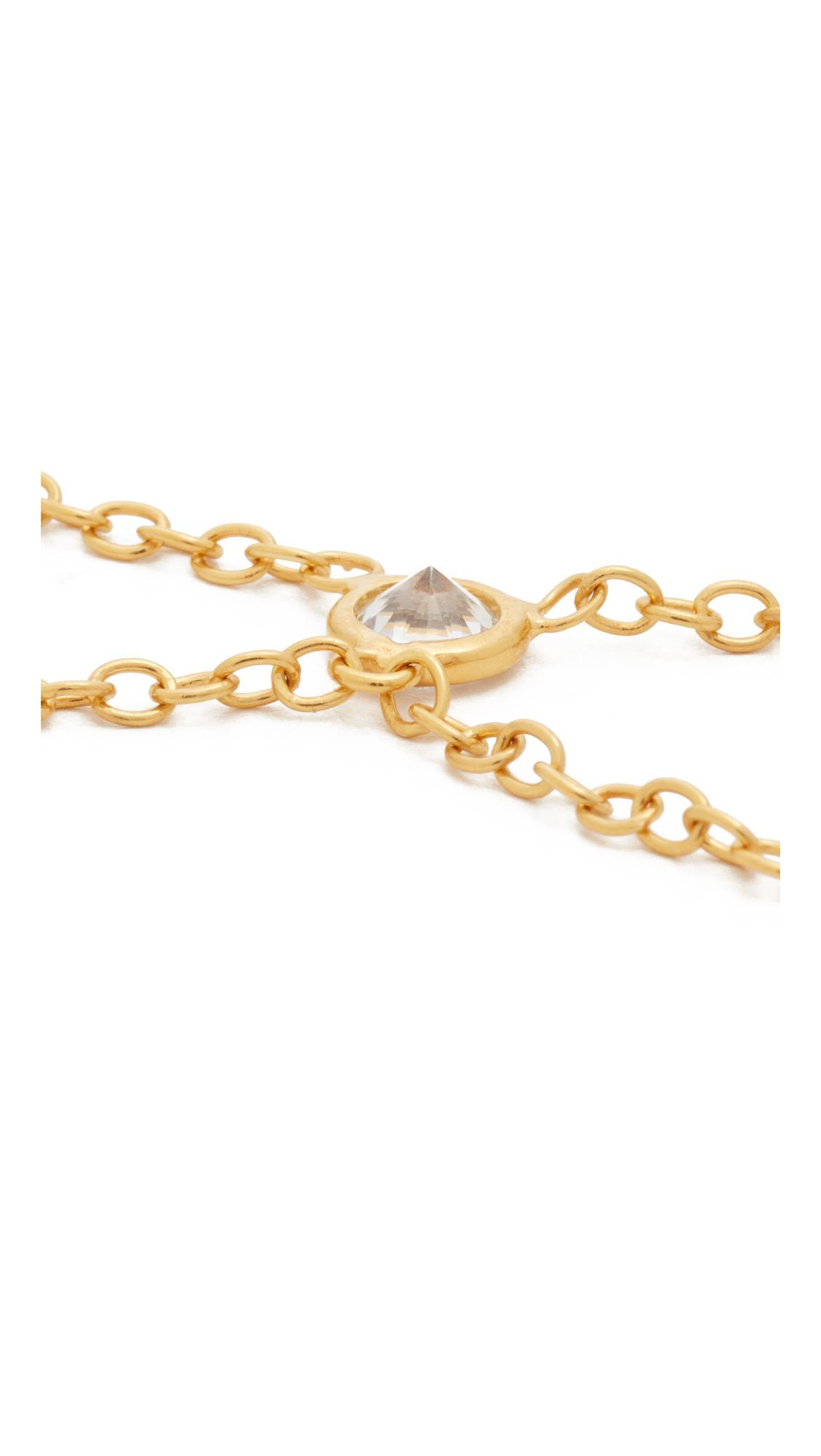 Jacquie Aiche Ja Selena Necklace in Metallic