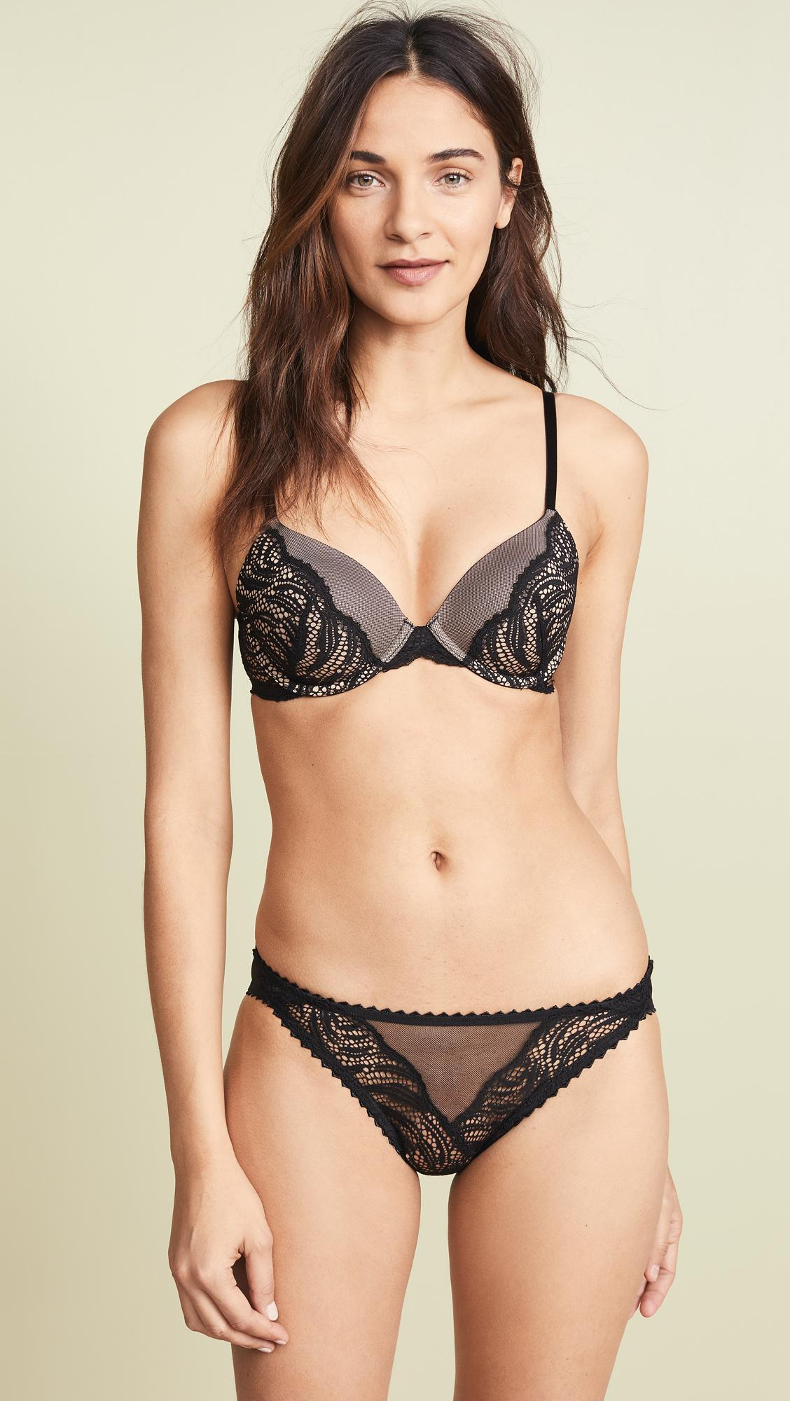 29de8b41a307c Calvin Klein. Women s Black Siren Perfectly Fit Lightly Lined Full Coverage