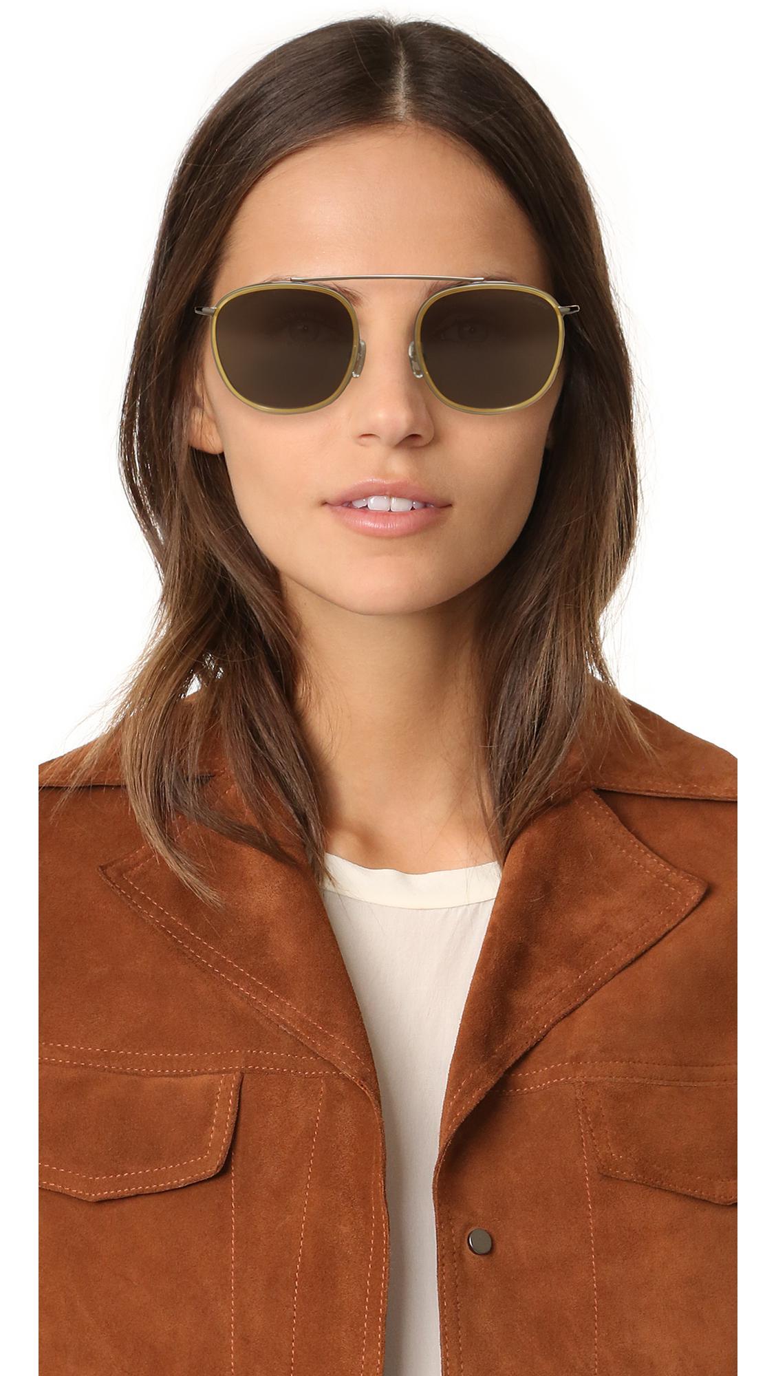 Illesteva Mykonos Ace Sunglasses in Grey