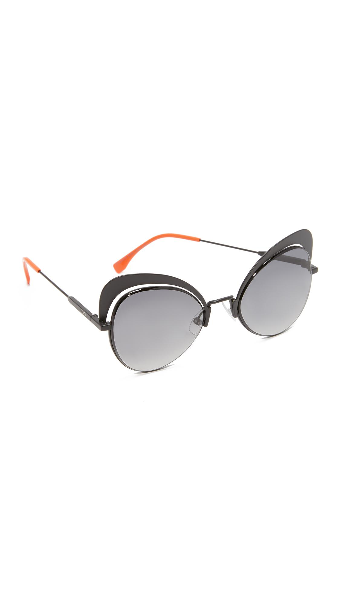 2a9e6bb58b6 Gallery. Previously sold at  Shopbop · Women s Cat Eye Sunglasses