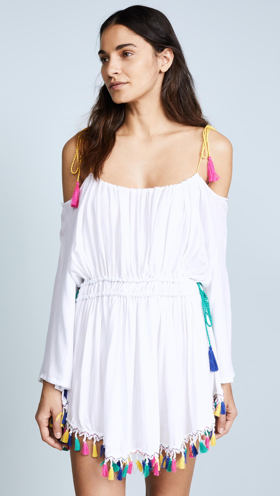a2ba8ec5a5 Nanette Lepore Fiesta Cover Up Dress in White - Lyst