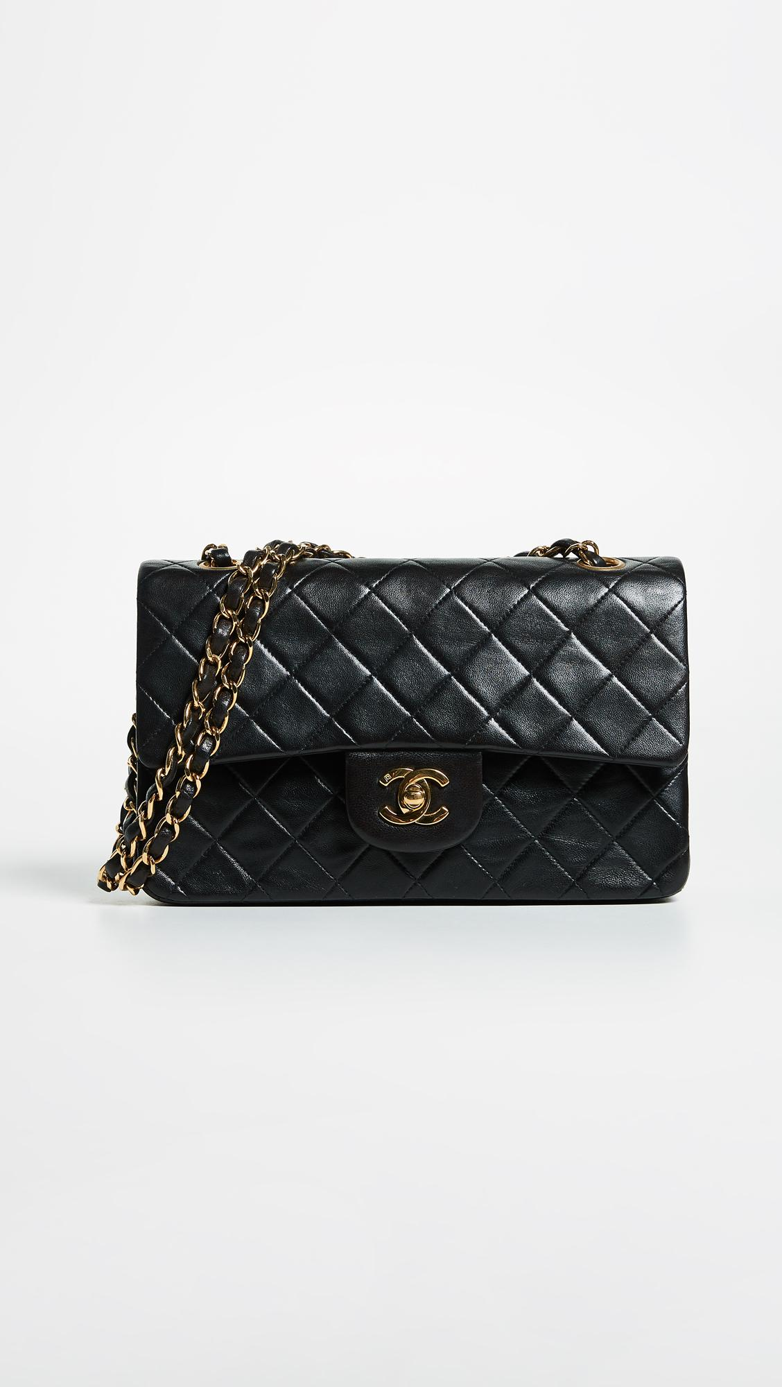 fbcd3a2c1fd5 What Goes Around Comes Around - Black Chanel 2.55 Classic Flap Bag - Lyst.  View fullscreen