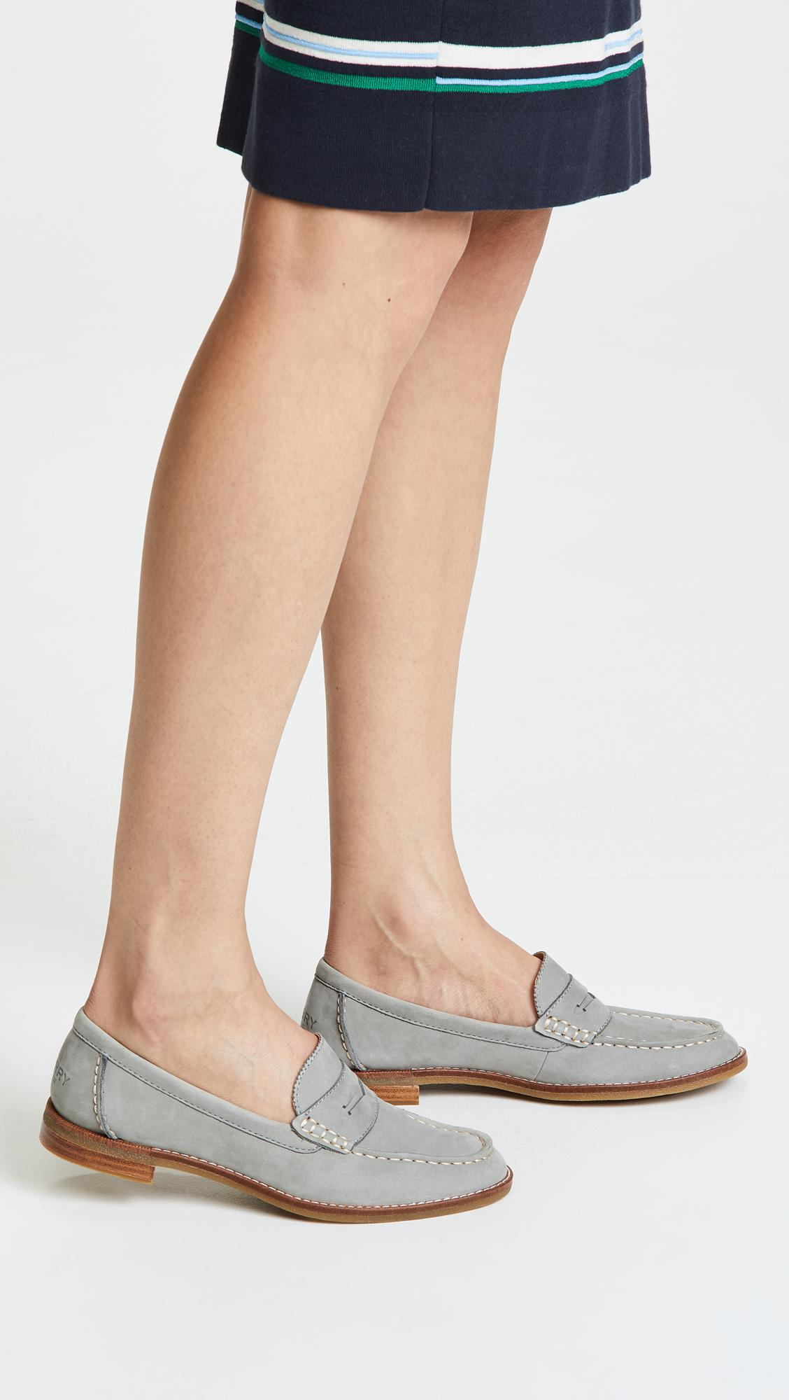 96281da8aab8 Lyst - Sperry Top-Sider Seaport Penny Loafers in Gray