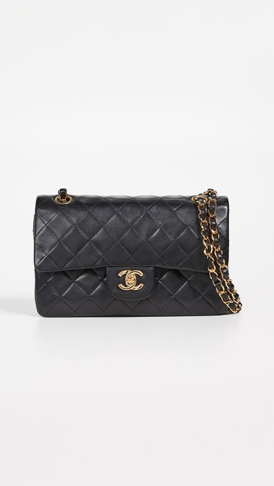 fad34946c806 What Goes Around Comes Around. Women's Black Chanel 2.55 Classic Flap Bag