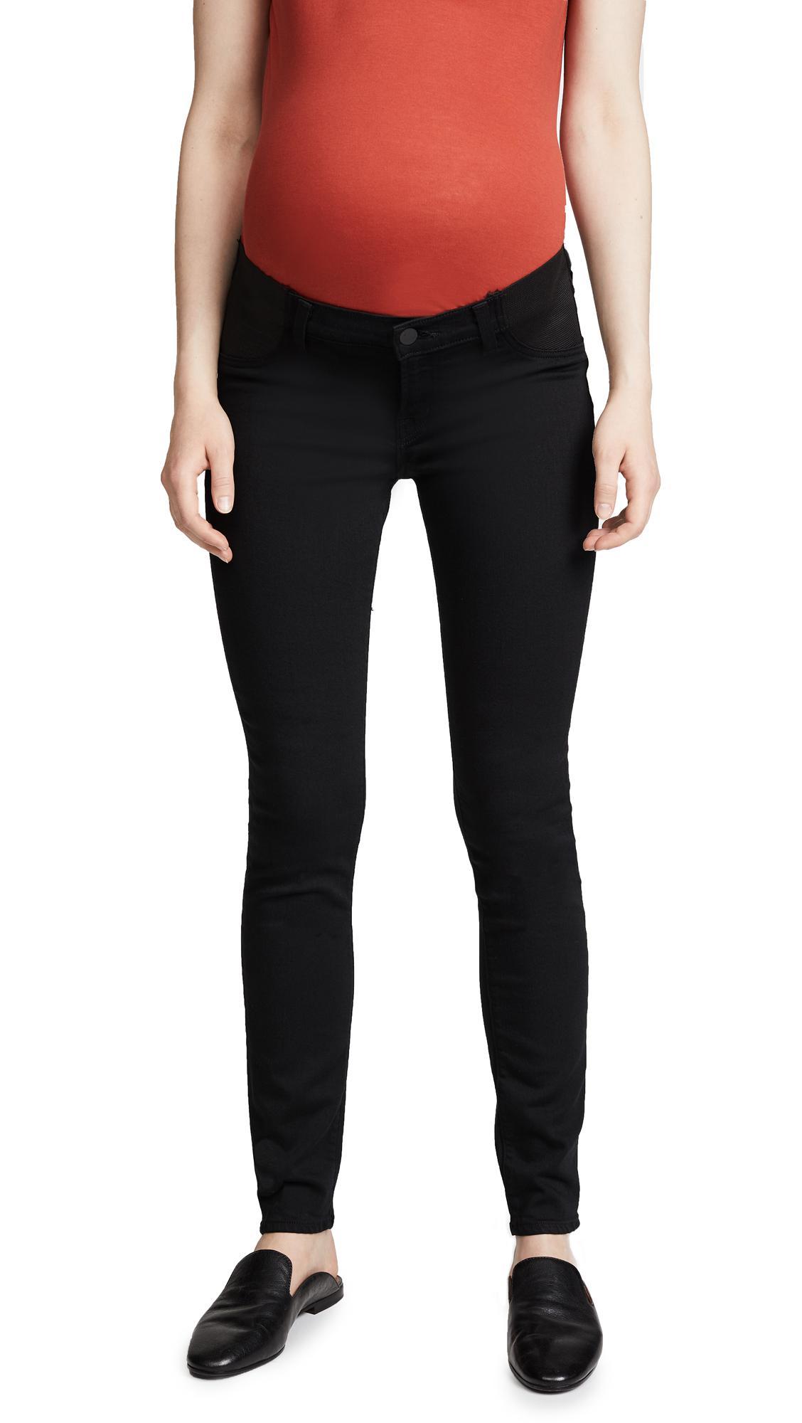 NWT J Brand Mama J Maternity Mid-Rise Skinny Pants In Blanc White $228
