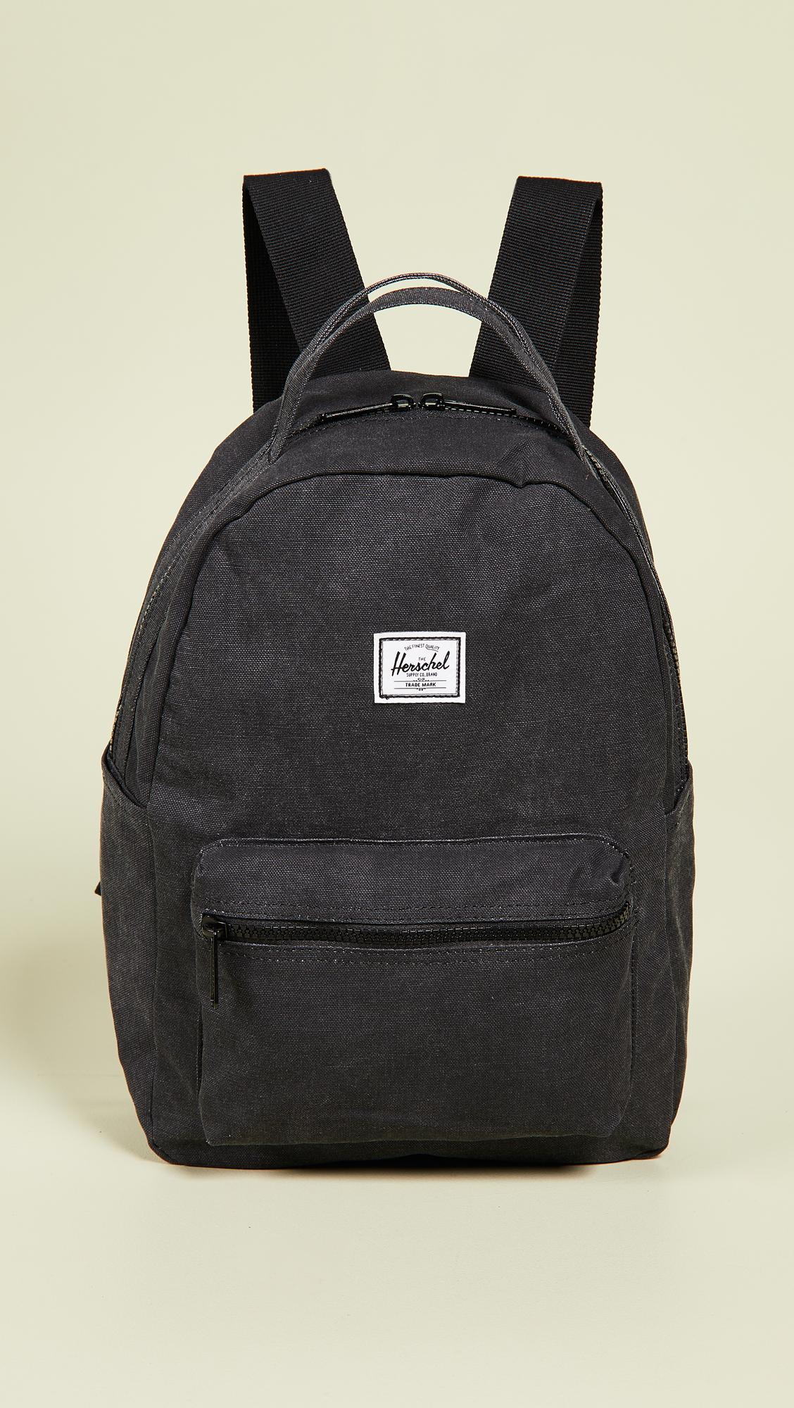 a575c00239 Lyst - Herschel Supply Co. Nova Small Backpack in Black - Save 2%