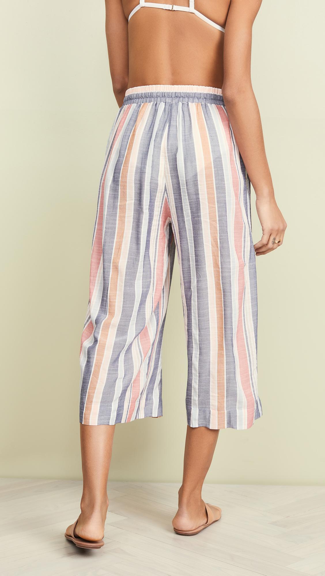 bb1efc37ca Madewell - Multicolor Wide Leg Beach Pants - Lyst. View fullscreen