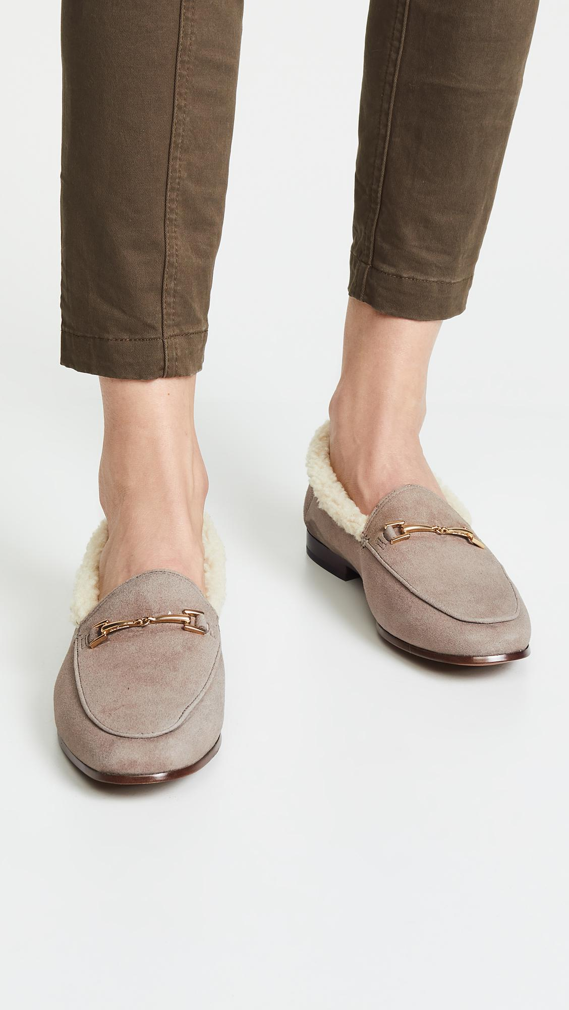 aed0b2f75d6 Sam Edelman - Gray Loraine Loafers - Lyst. View fullscreen