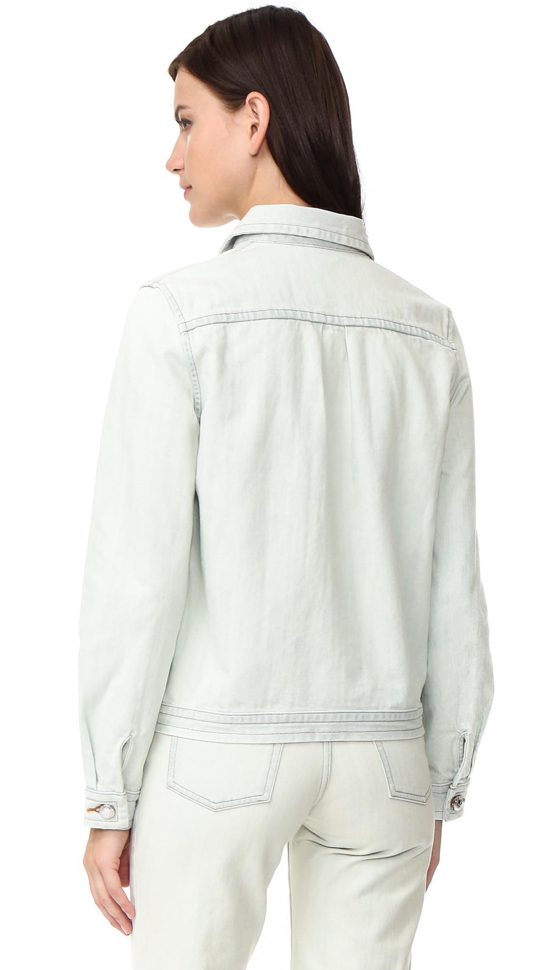 608e3d23a2c Lyst - A.P.C. Shirley Denim Jacket