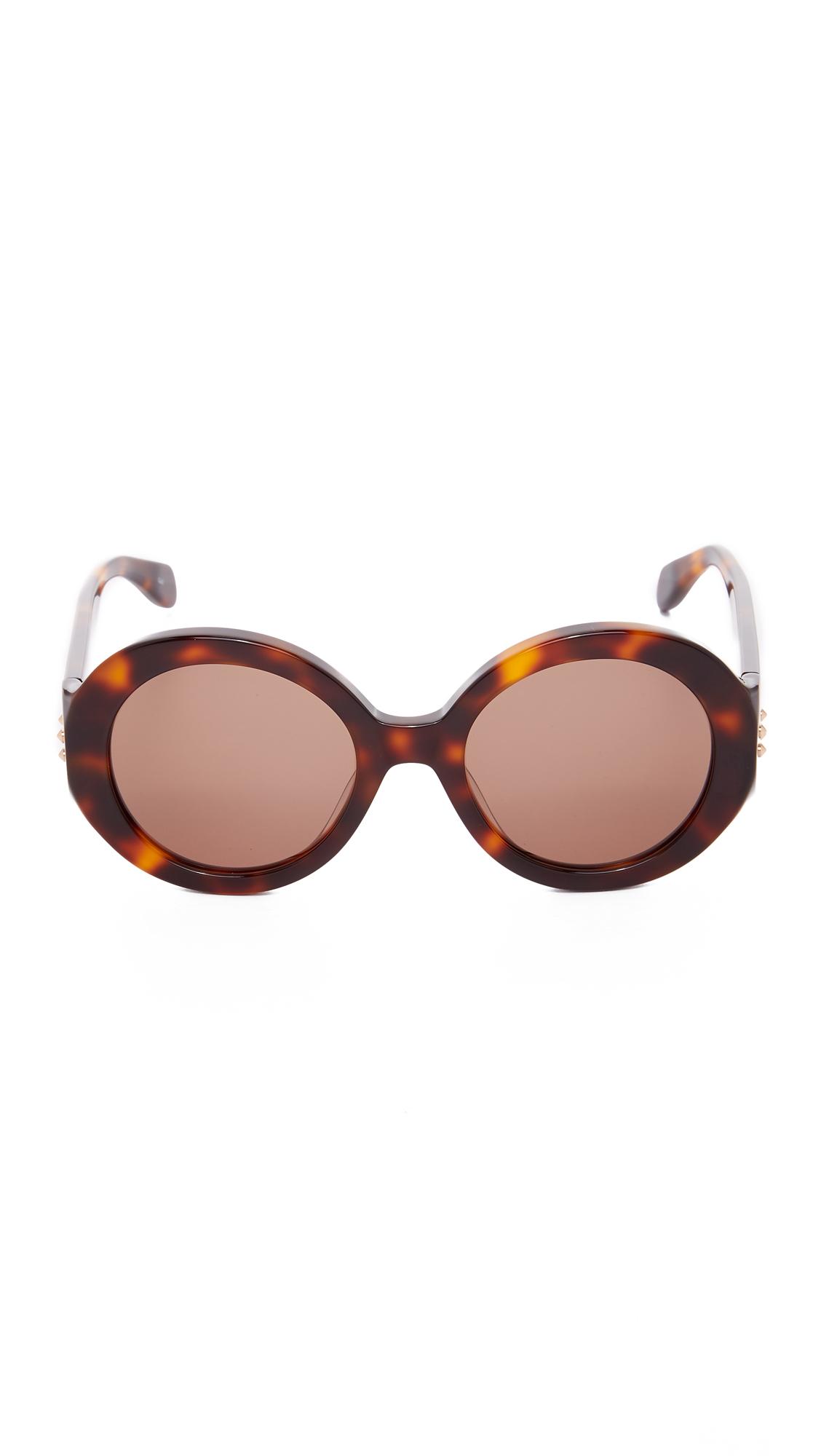 Alexander McQueen Belle Du Jour Sunglasses in Brown