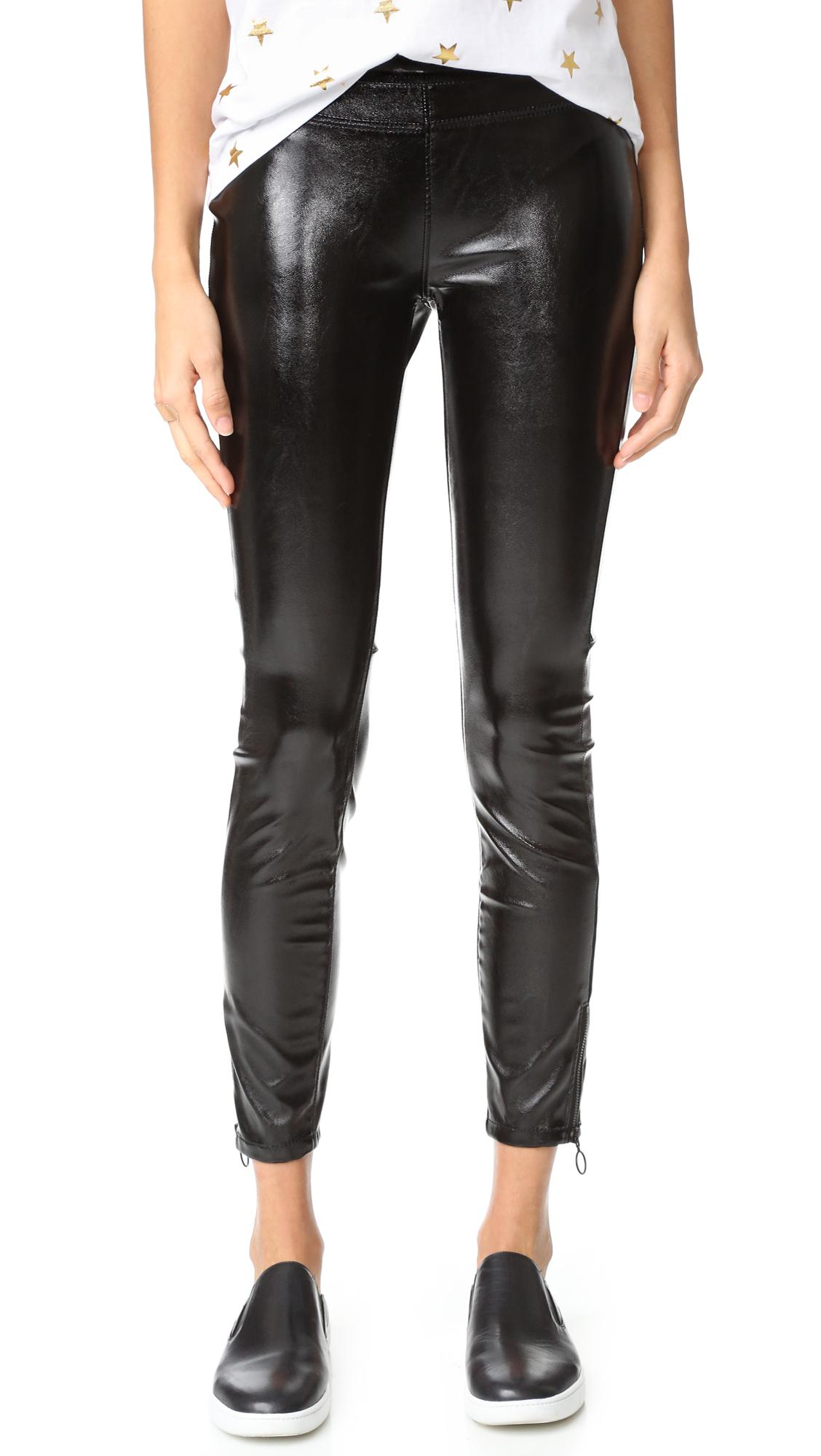d063d0ab5d180a Blank NYC Patent Pull On Leggings in Blue - Lyst