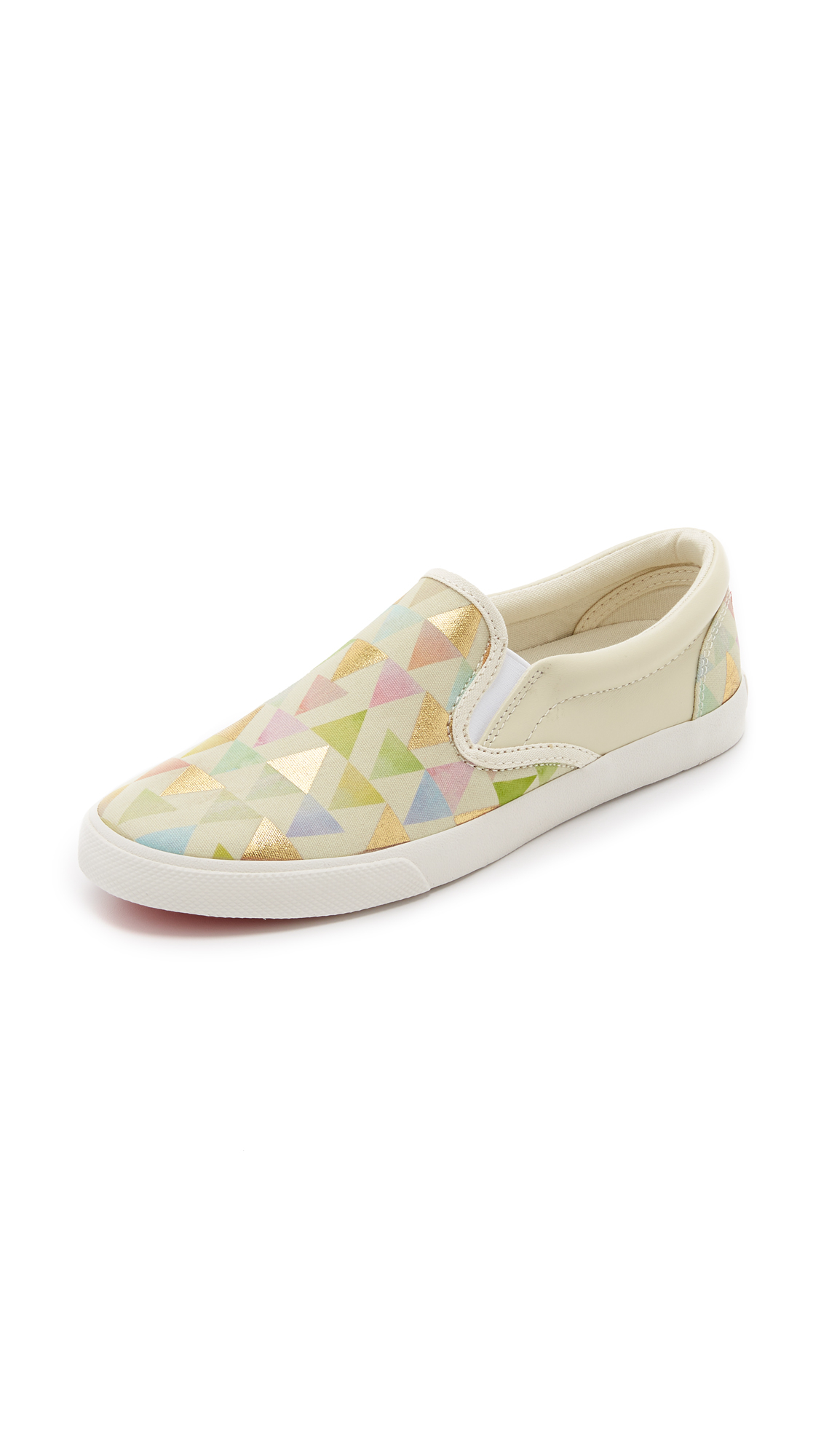 Bucketfeet Leather Girly Things Slip On Sneakers