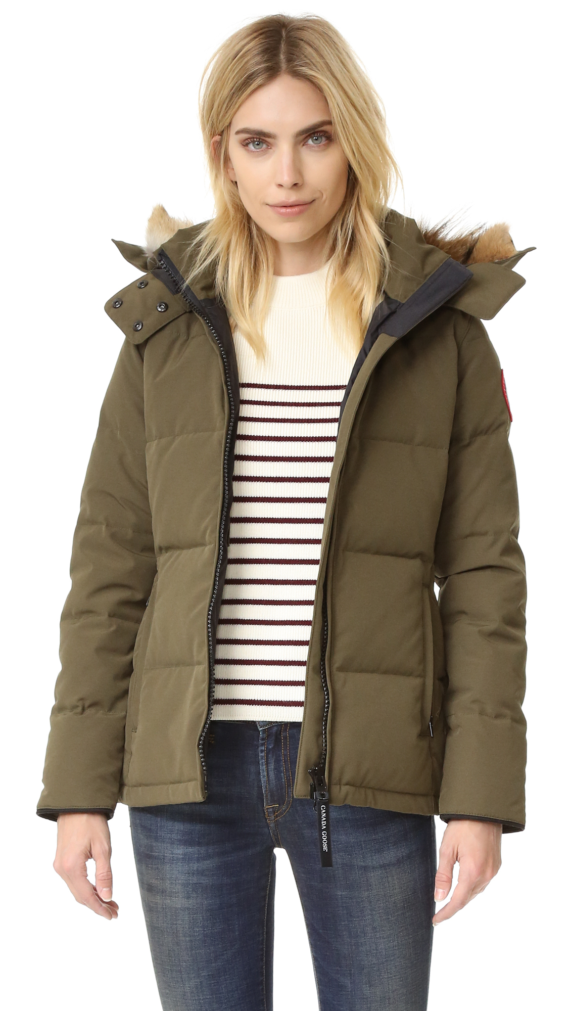 591d753f305b Lyst - Canada Goose Chelsea Parka in Green