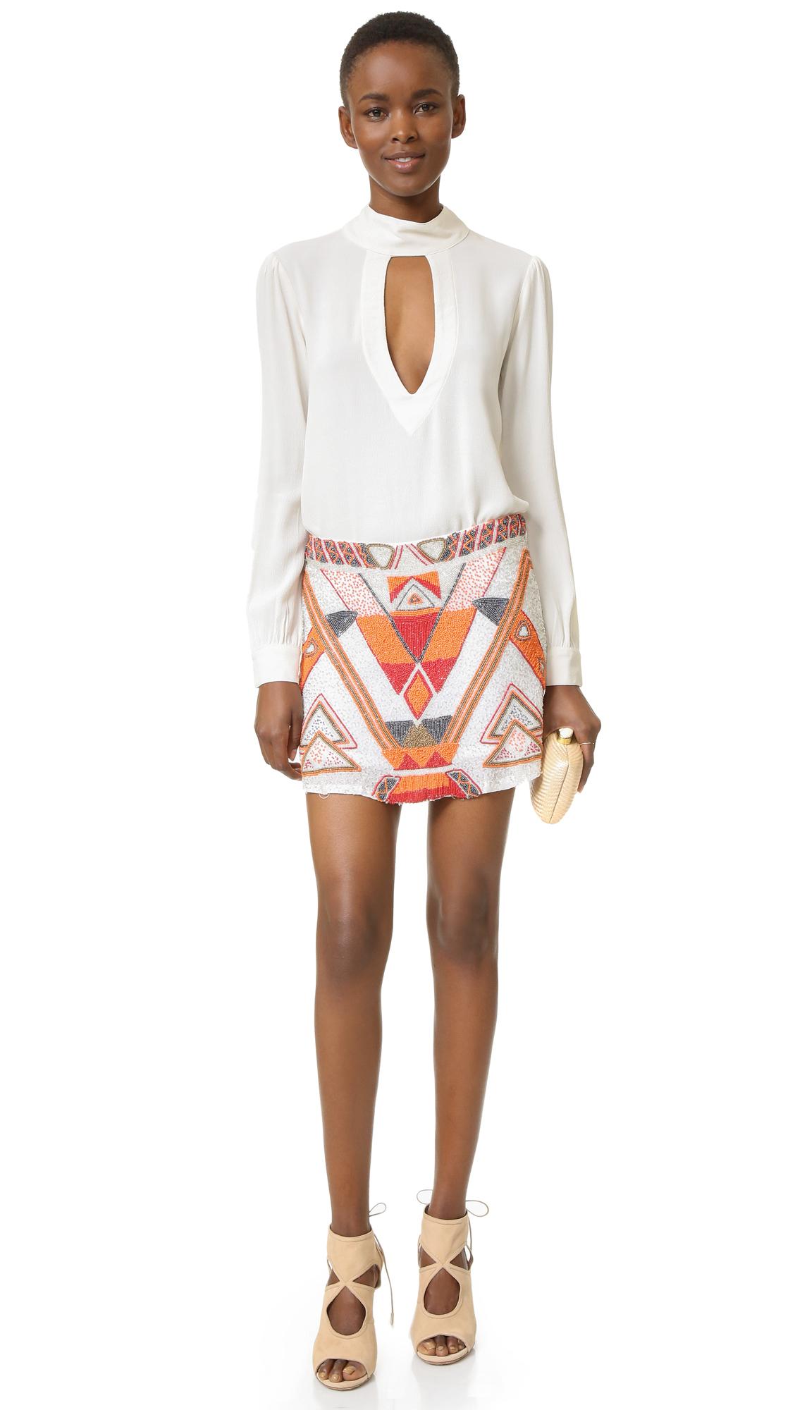 Lyst Chloe Oliver Havana Nights Skirt