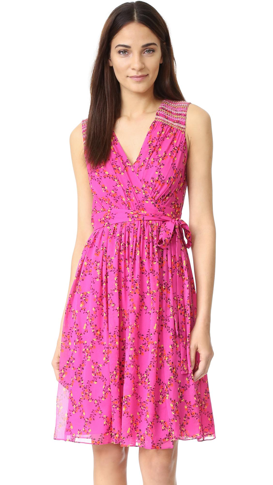 e183ae0a66ae Diane Von Furstenberg Bali Dress in Pink - Lyst