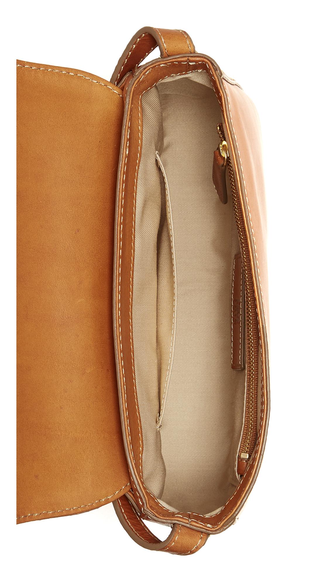 Frye Leather Casey Cross Body Bag