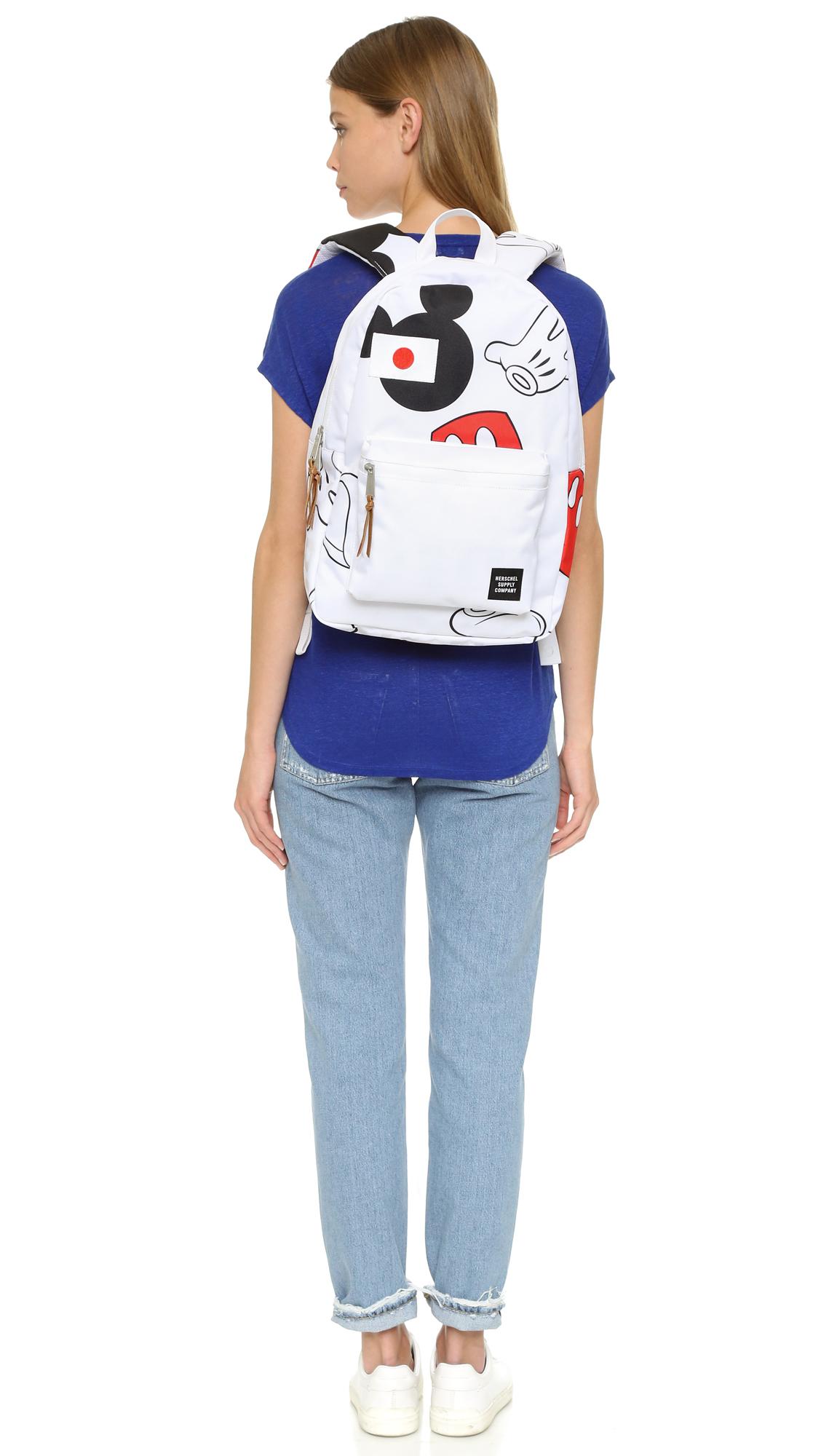Herschel Supply Co. Disney X Herschel Settlement Backpack in White