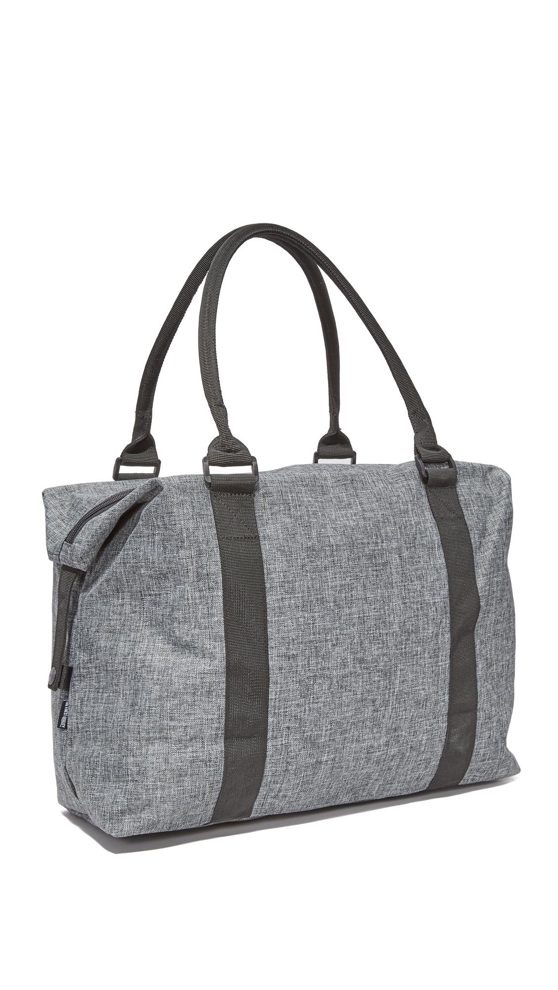Herschel Supply Co. Canvas Strand Mid Size Duffel Bag in Black