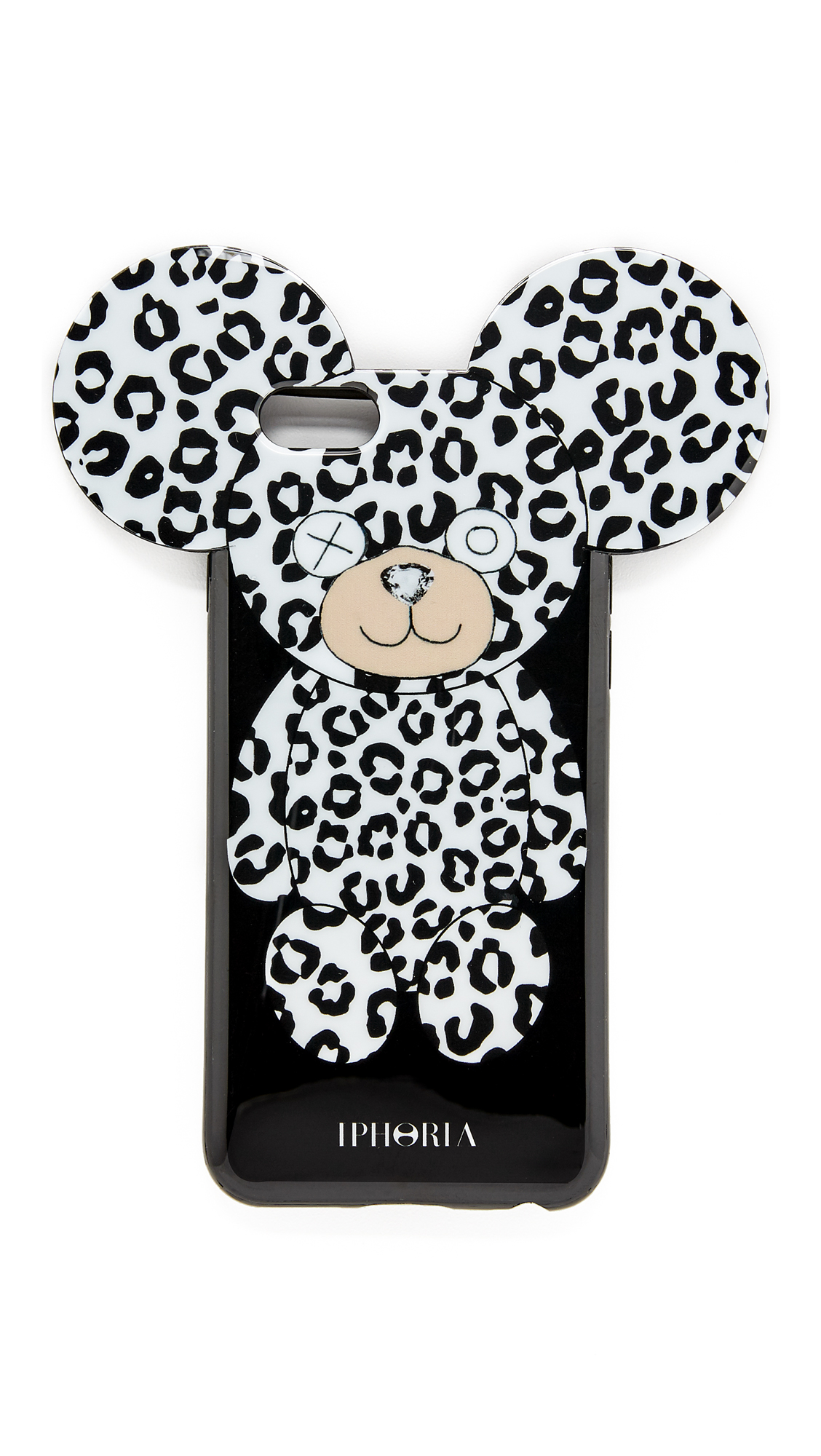 lyst iphoria black roar iphone 6 6s case in black. Black Bedroom Furniture Sets. Home Design Ideas