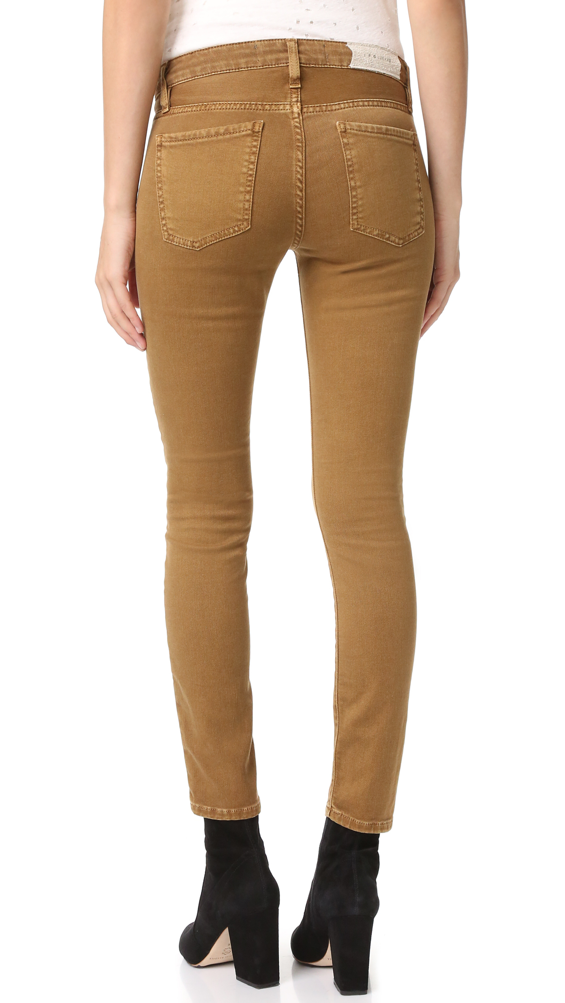 Iro Denim Jarodcla Low Rise Crop Jeans Lyst