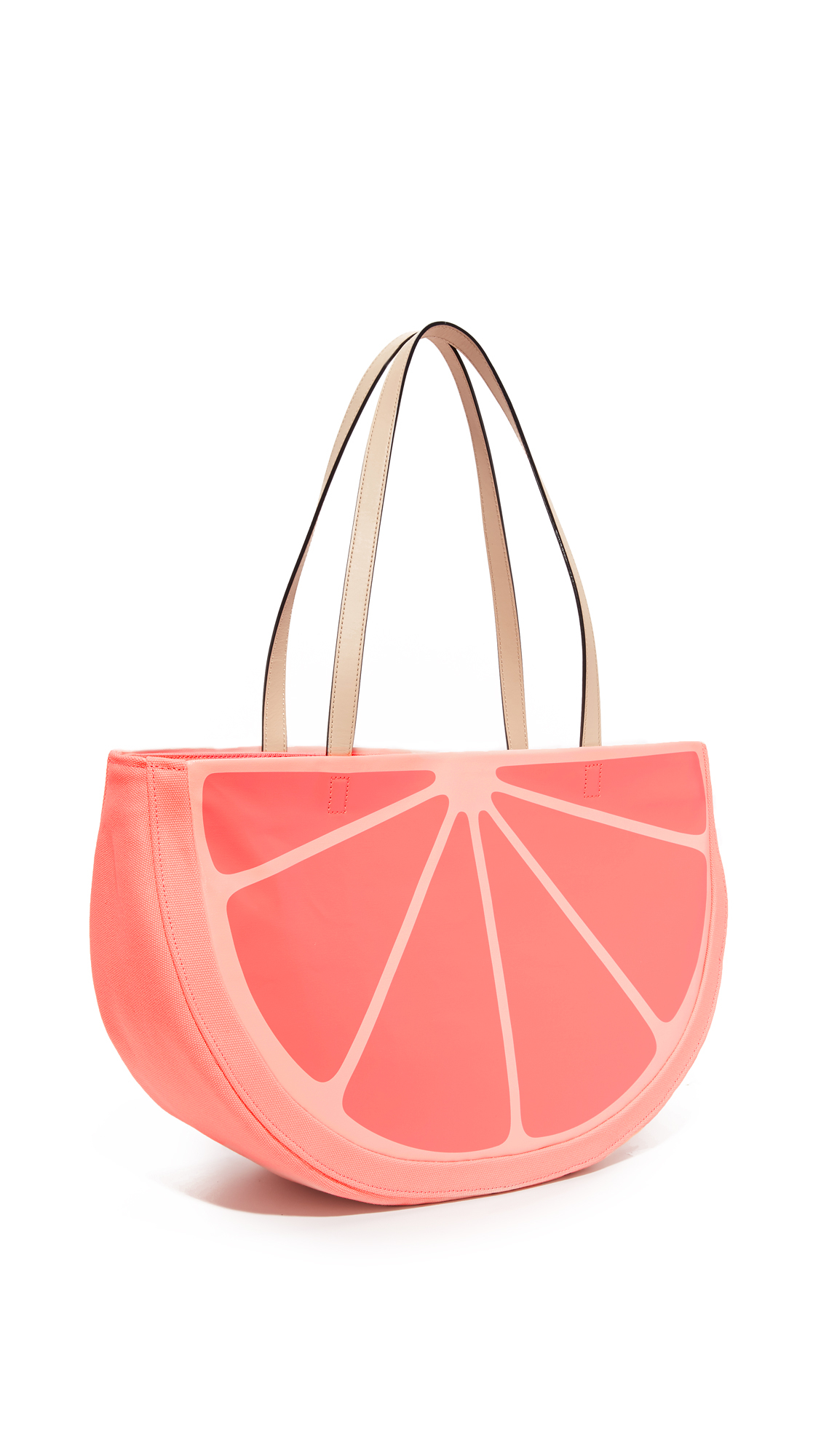 Kate Spade Canvas Grapefruit Tote in Blue