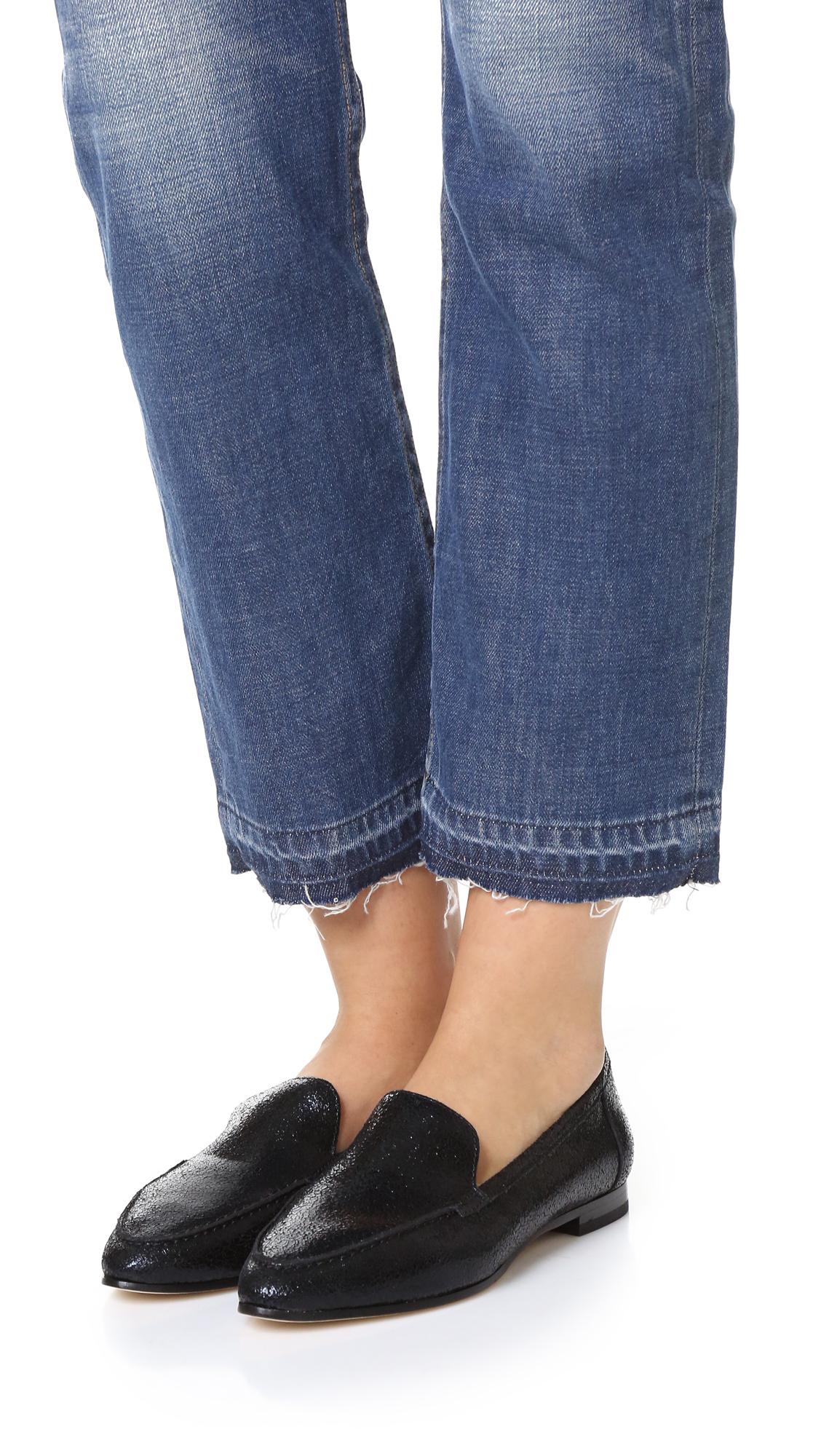 bbdd7420a6fa Kate Spade Carima Loafers in Black - Lyst