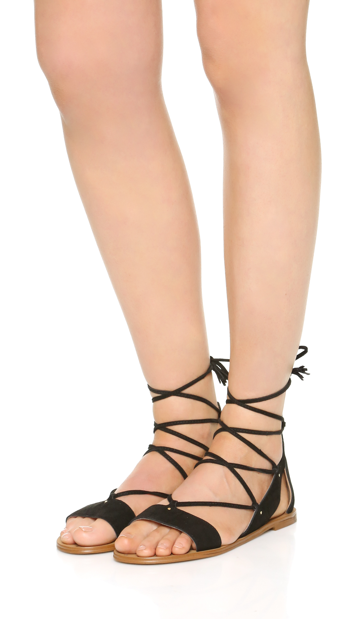 602b45f5752a Gallery. Previously sold at  Shopbop · Women s Lace Up Flats Women s  Gladiator ...