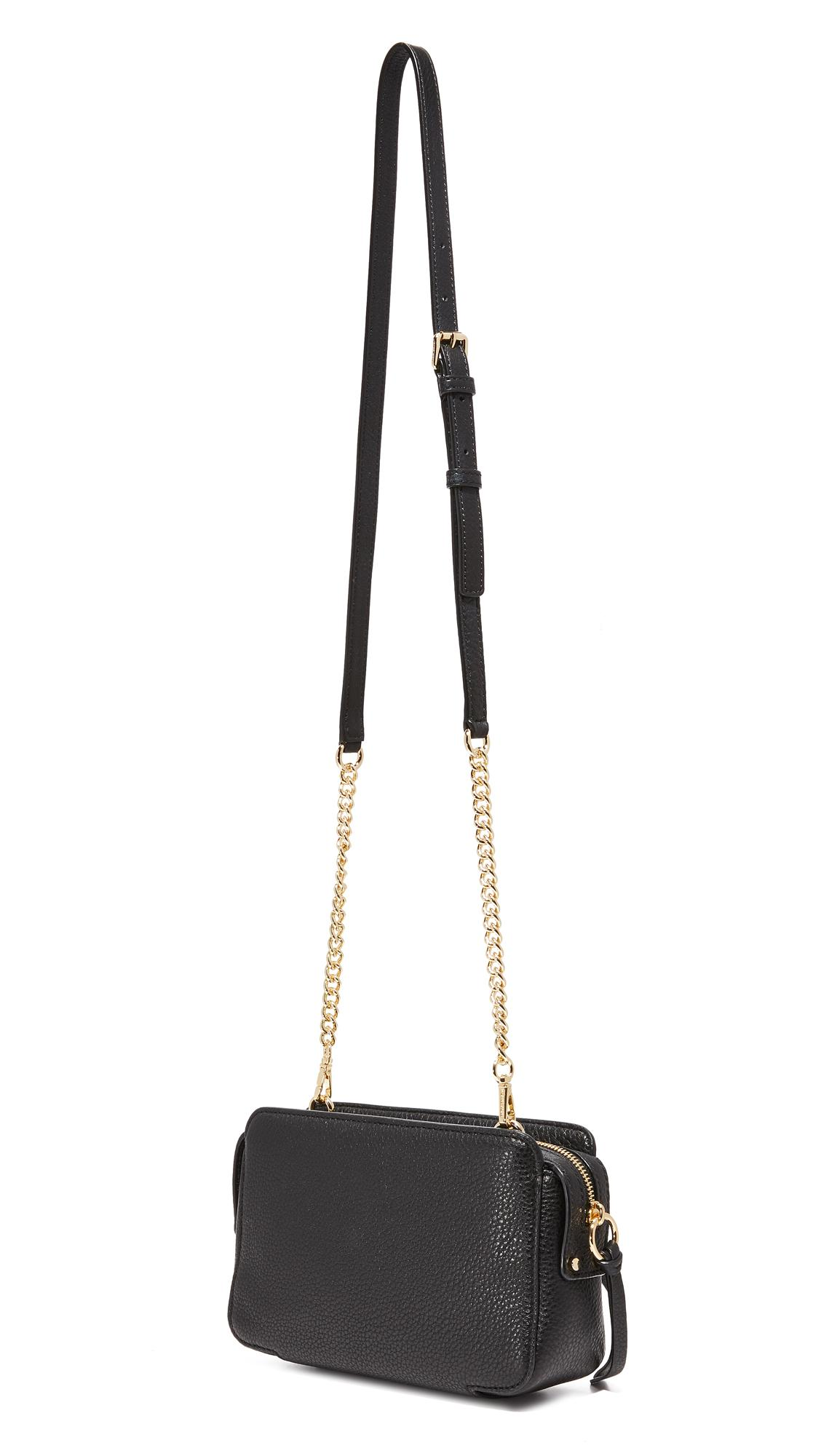 Lyst - Michael Michael Kors Mitchell Camera Bag In Black