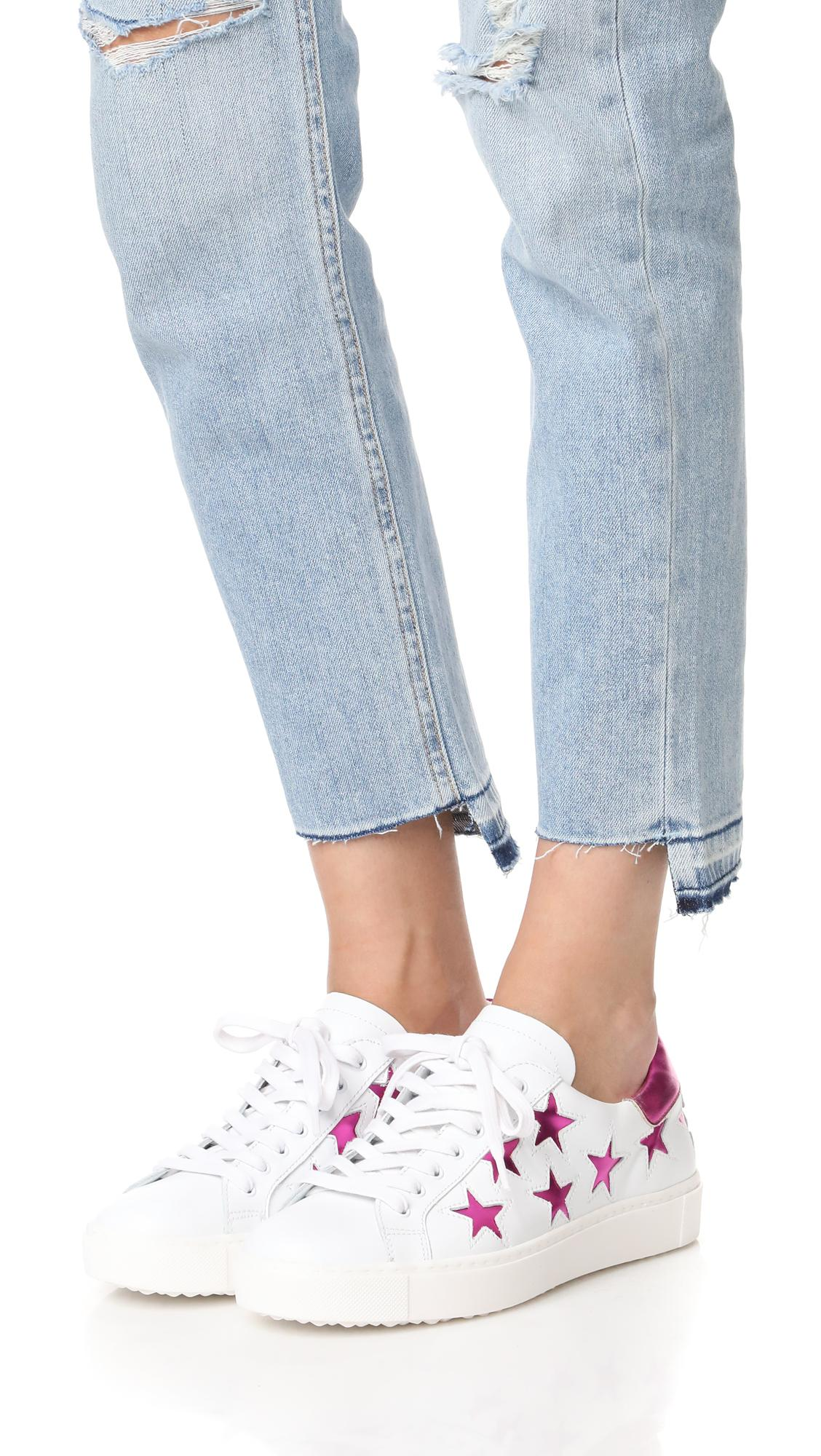 One By Leather Stella Star Sneakers