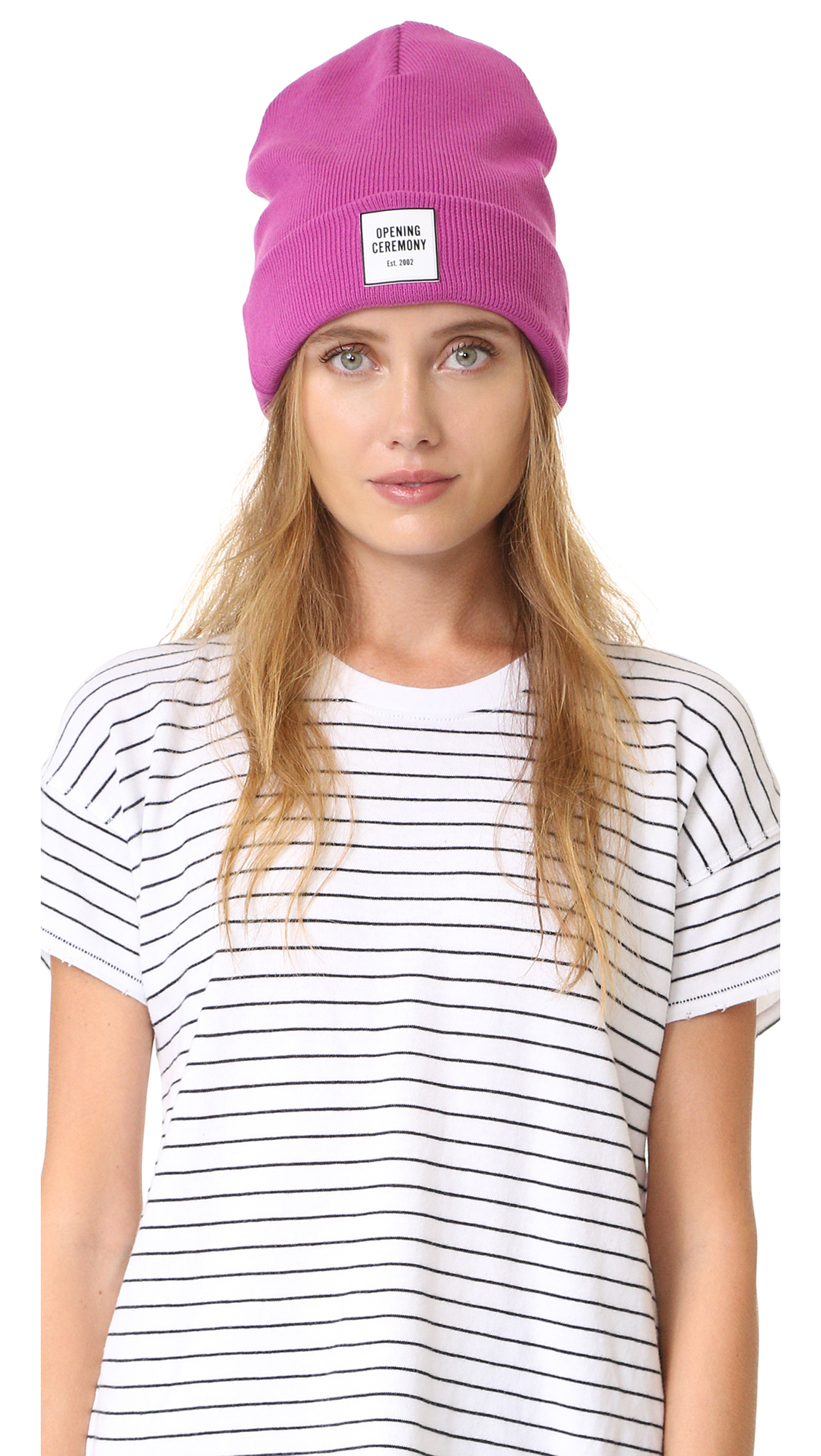 Opening Ceremony Cotton Logo Knit Beanie Lyst