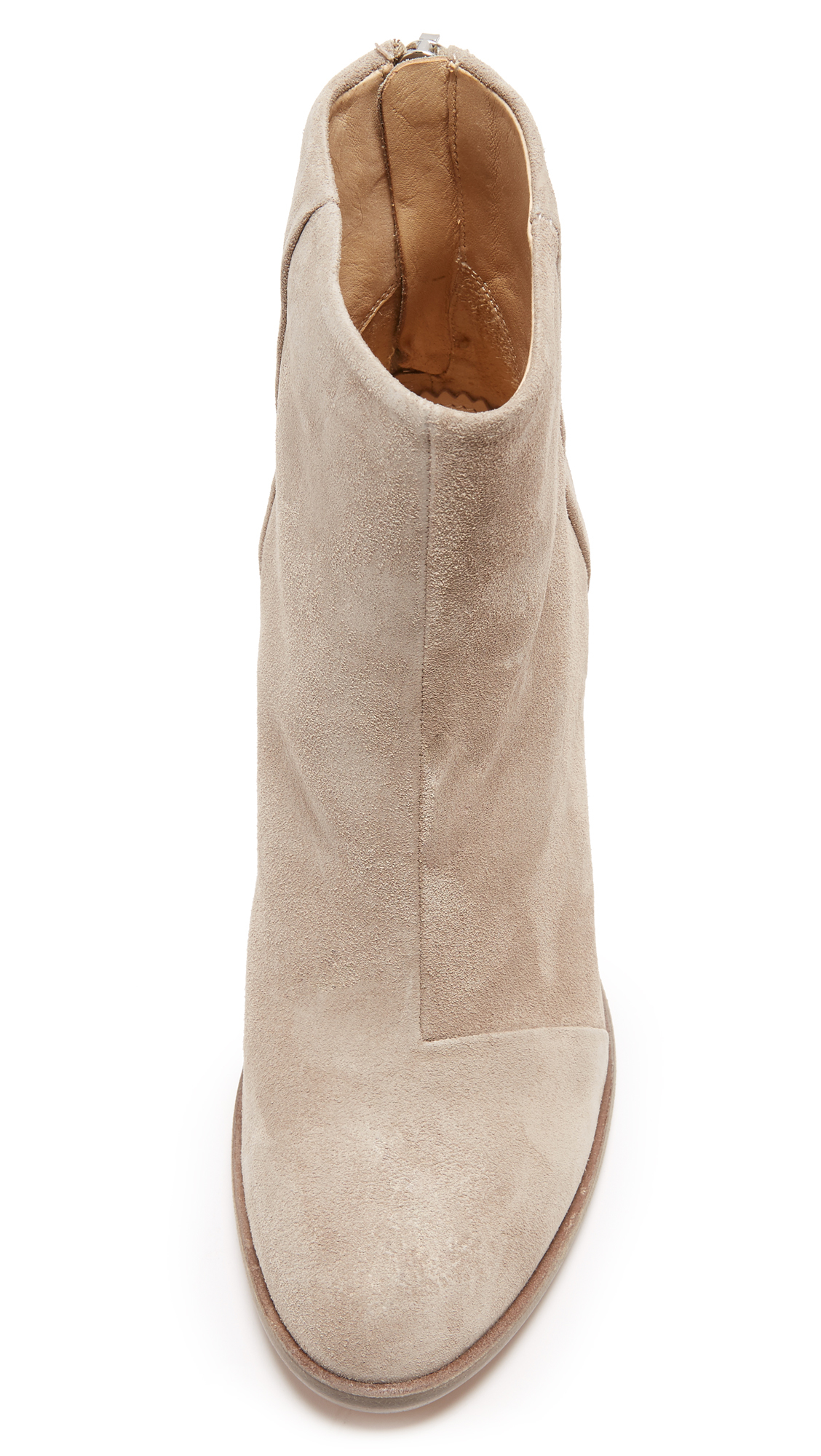 Rag & Bone Suede Ashby Ankle Booties
