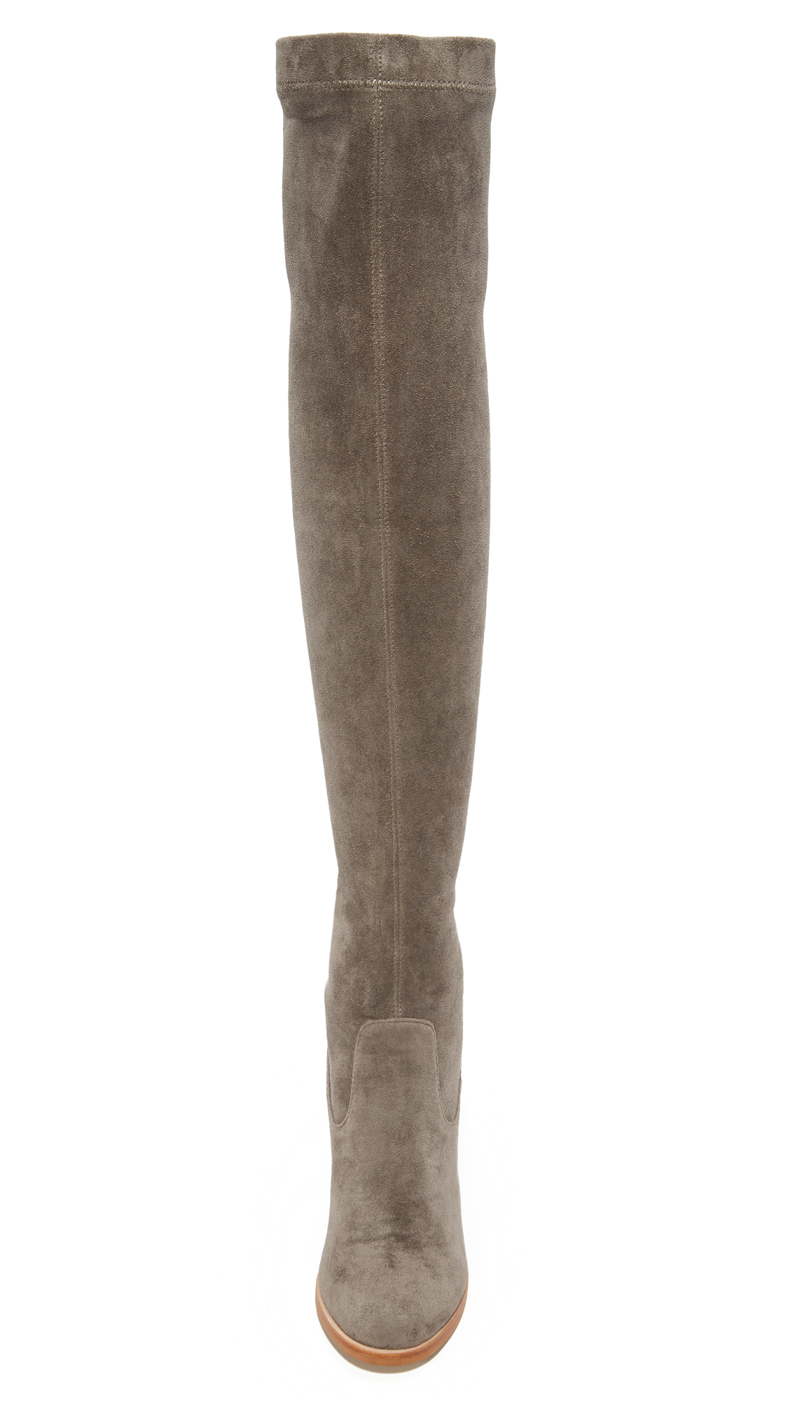 Sol Sana Suede Bella Stretch Over The Knee Boots