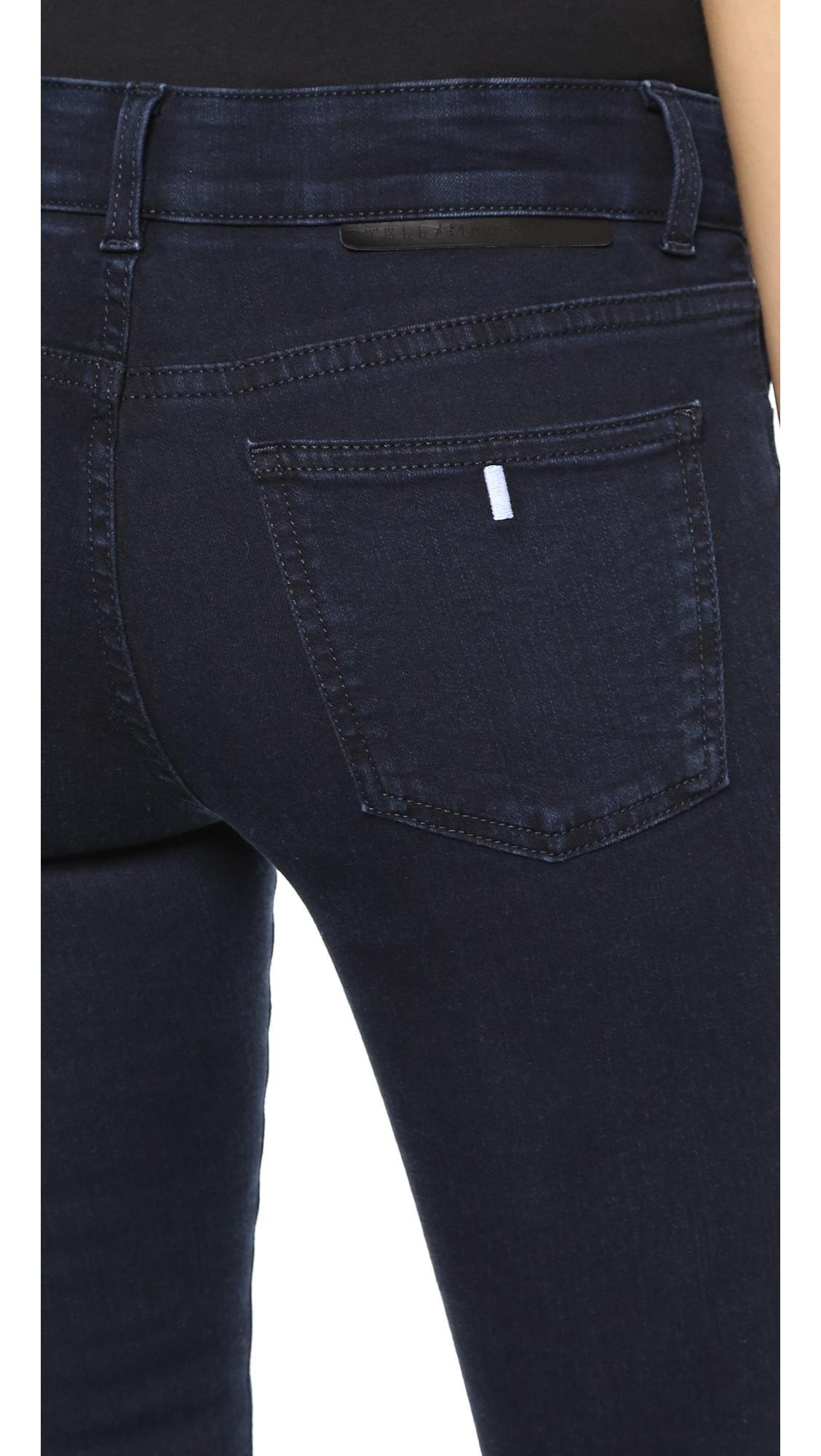Stella McCartney Denim Long Skinny Jeans in Blue/Black (Black)