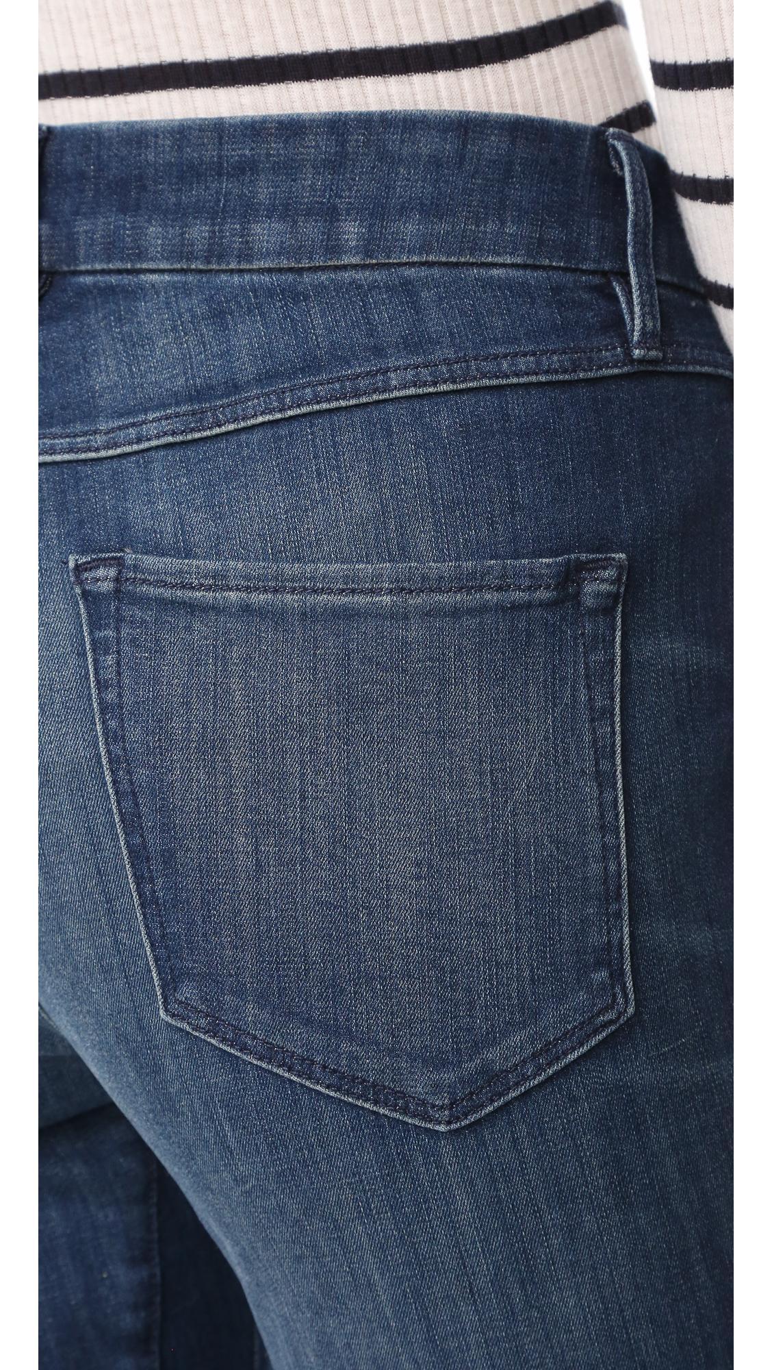 3x1 Denim W3 Channel Seam Crop Jeans
