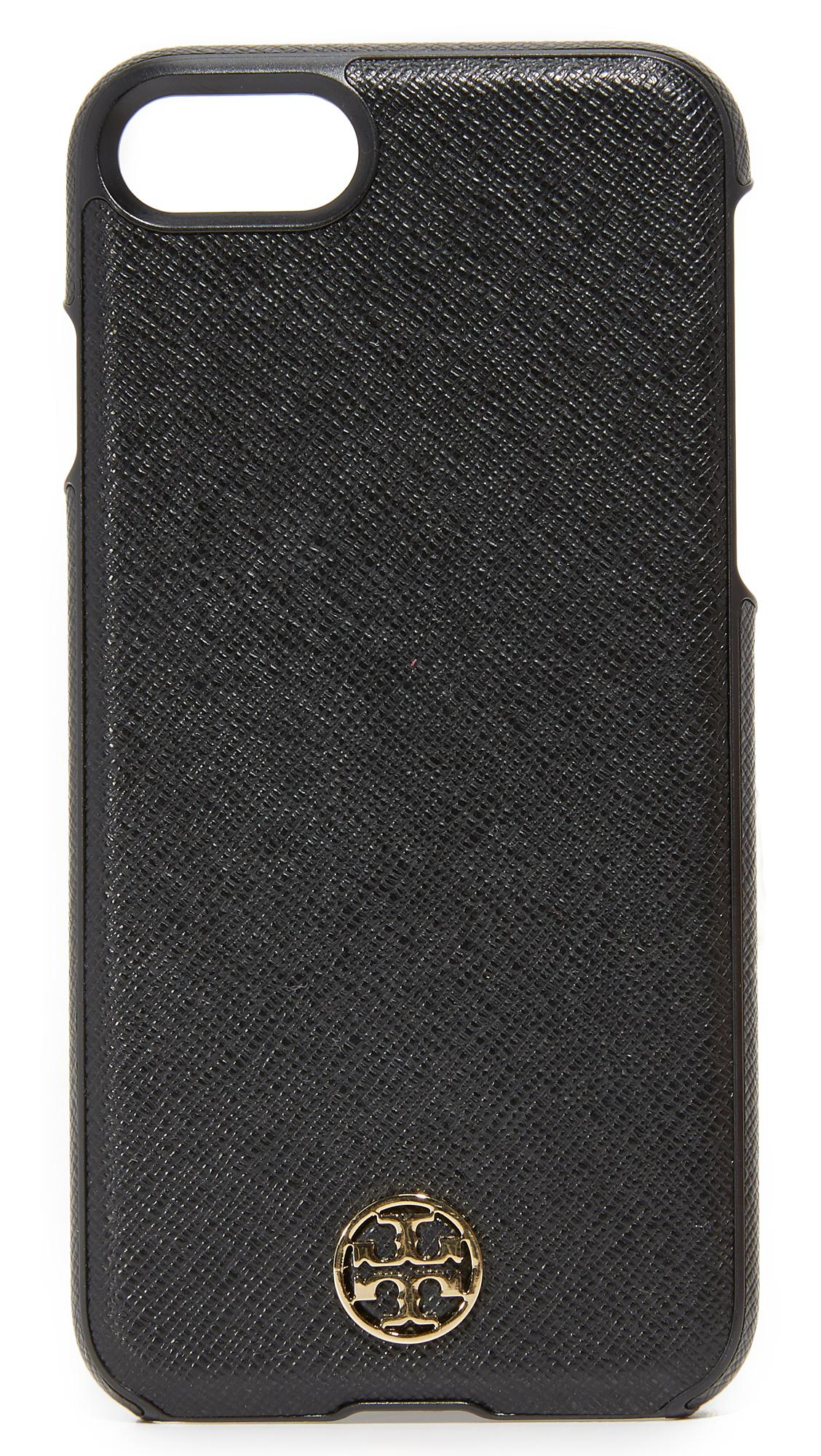 tory burch iphone case burch robinson hardshell iphone 7 in black lyst 16280