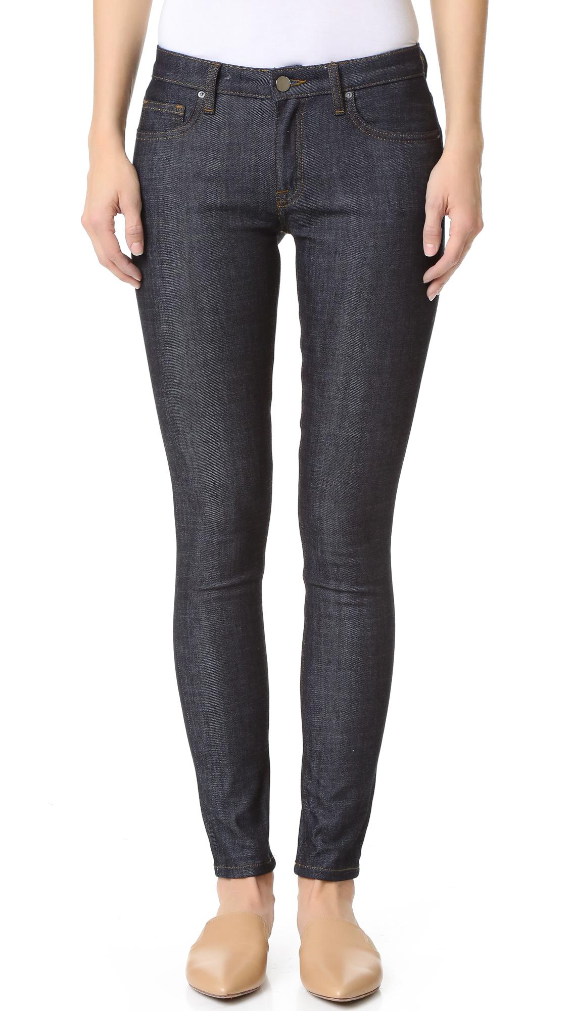 victoria victoria beckham super skinny jeans in blue lyst. Black Bedroom Furniture Sets. Home Design Ideas