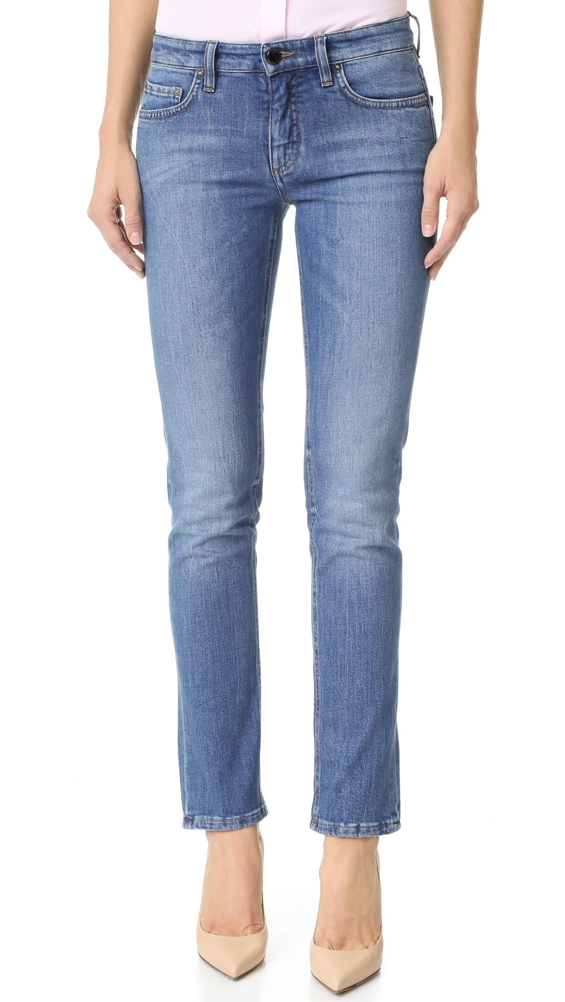 Lyst Victoria Victoria Beckham Alt Jeans In Blue