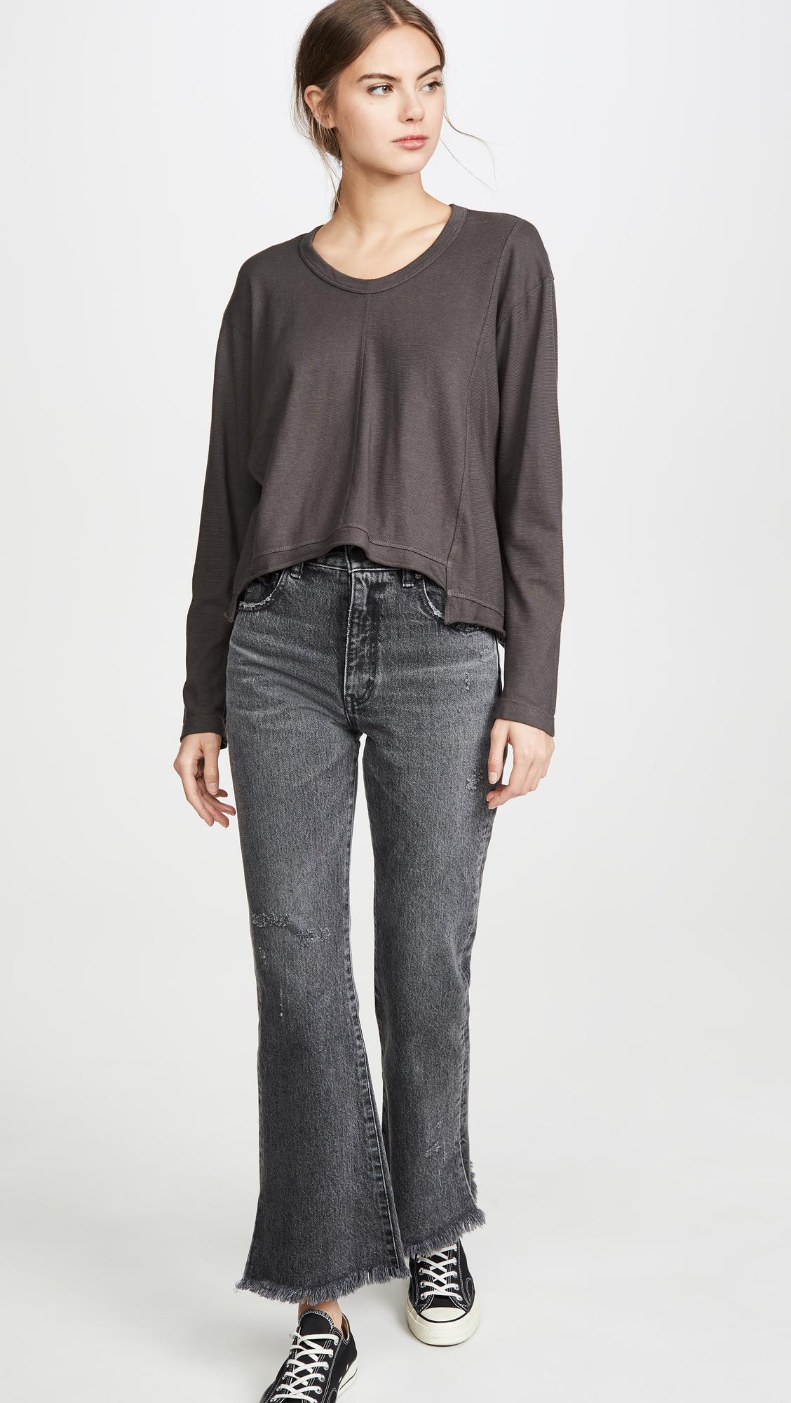 Wilt Womens Big Seam Shifted Sweatshirt