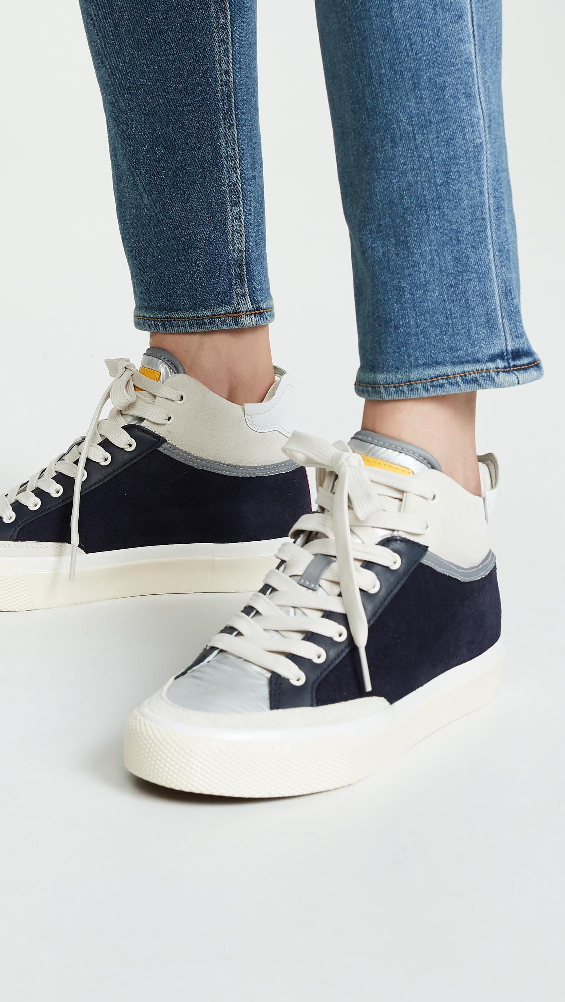 Rag \u0026 Bone Synthetic Army High Sneakers