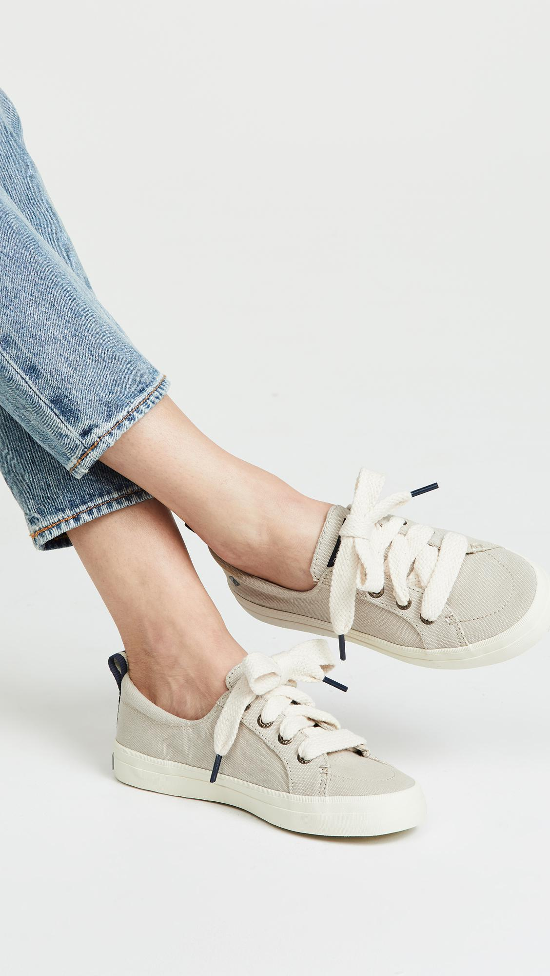 pretty cool wholesale sales arrives Crest Vibe Chubby Lace Sneakers