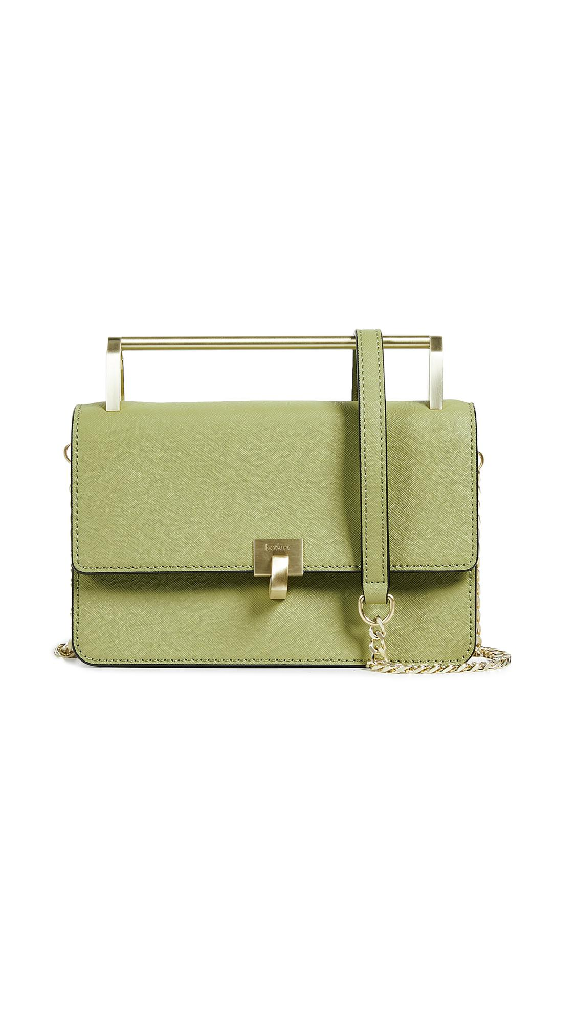 Botkier Leather Lennox Small Cross Body Bag in Sage (Green)