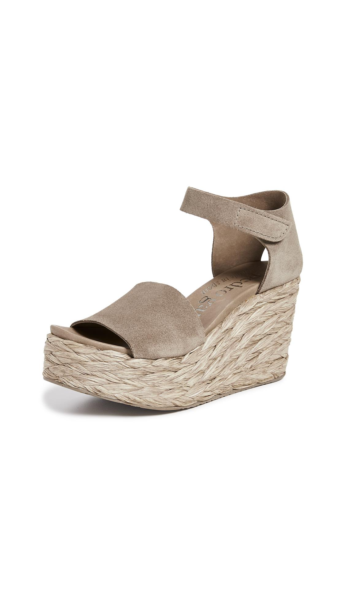 0b966f50e4e Lyst - Pedro Garcia Dory Wedge Sandals