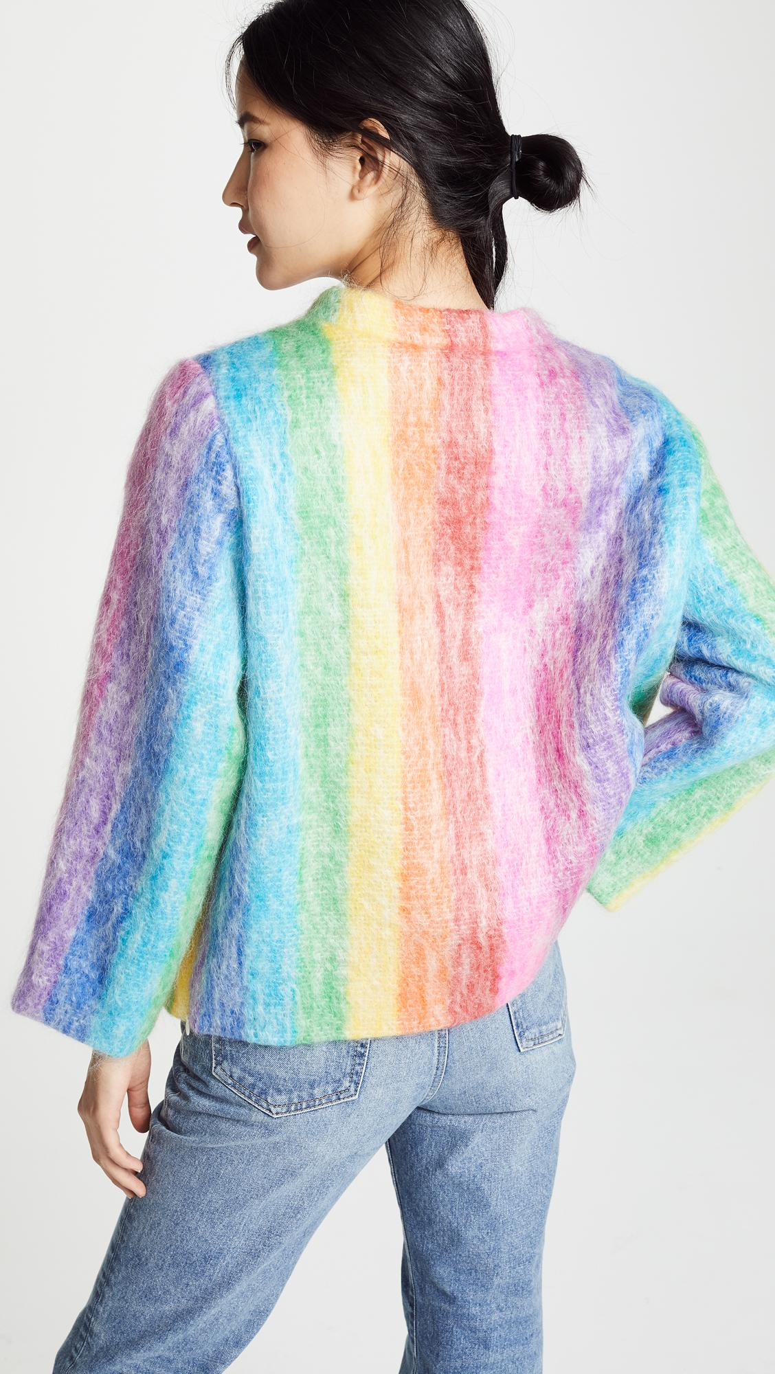 Lyst Prestic Ouiston View Quiberon Multicolor Sweater Mohair Fullscreen La Yqdwgaq