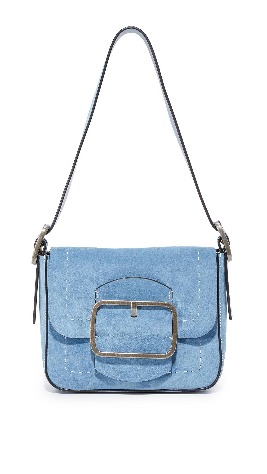 723c8ad3d06e Tory Burch Sawyer Small Shoulder Bag in Blue - Lyst