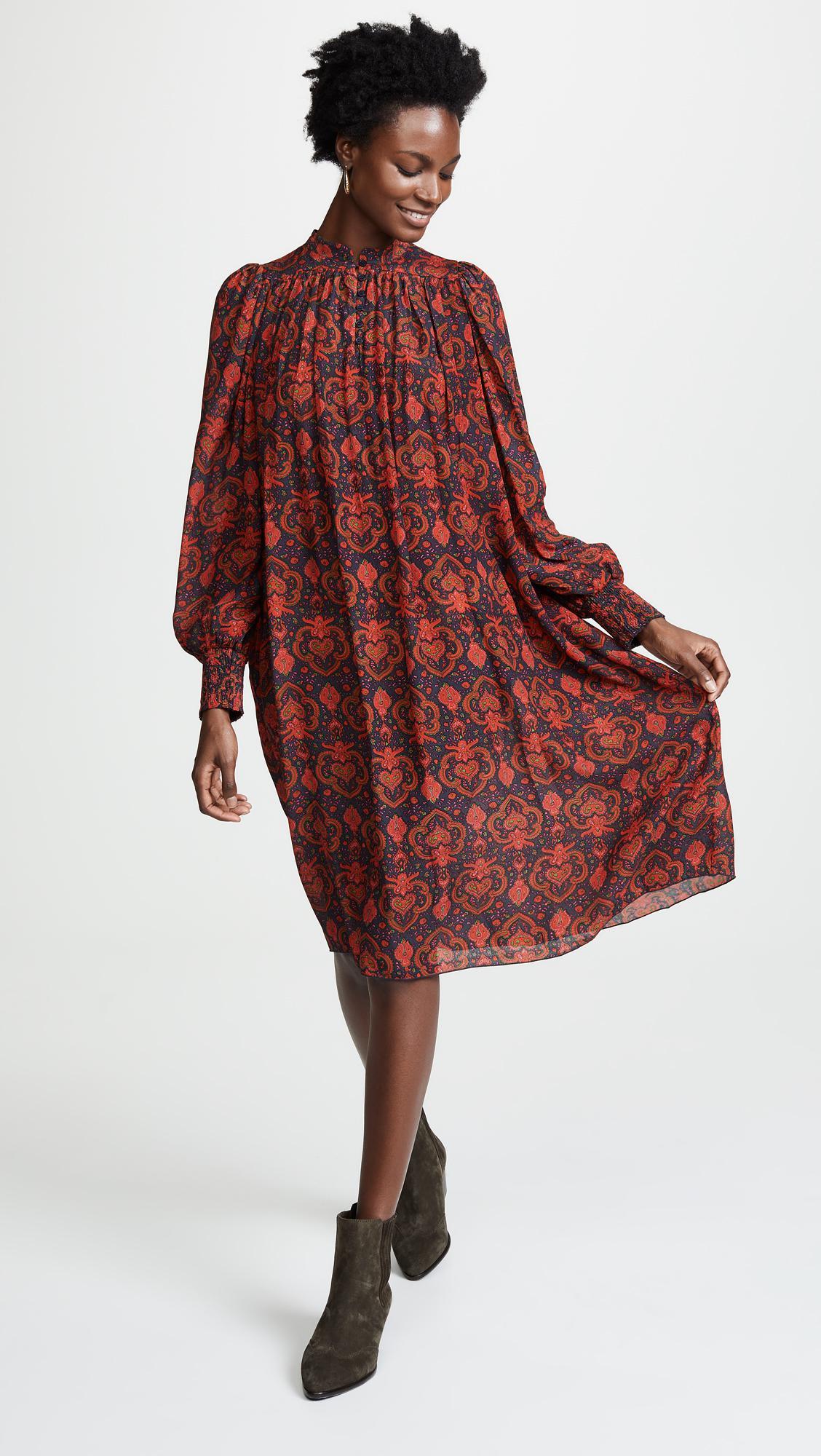 Lyst - Antik Batik Myle Dress in Red d1d49703c