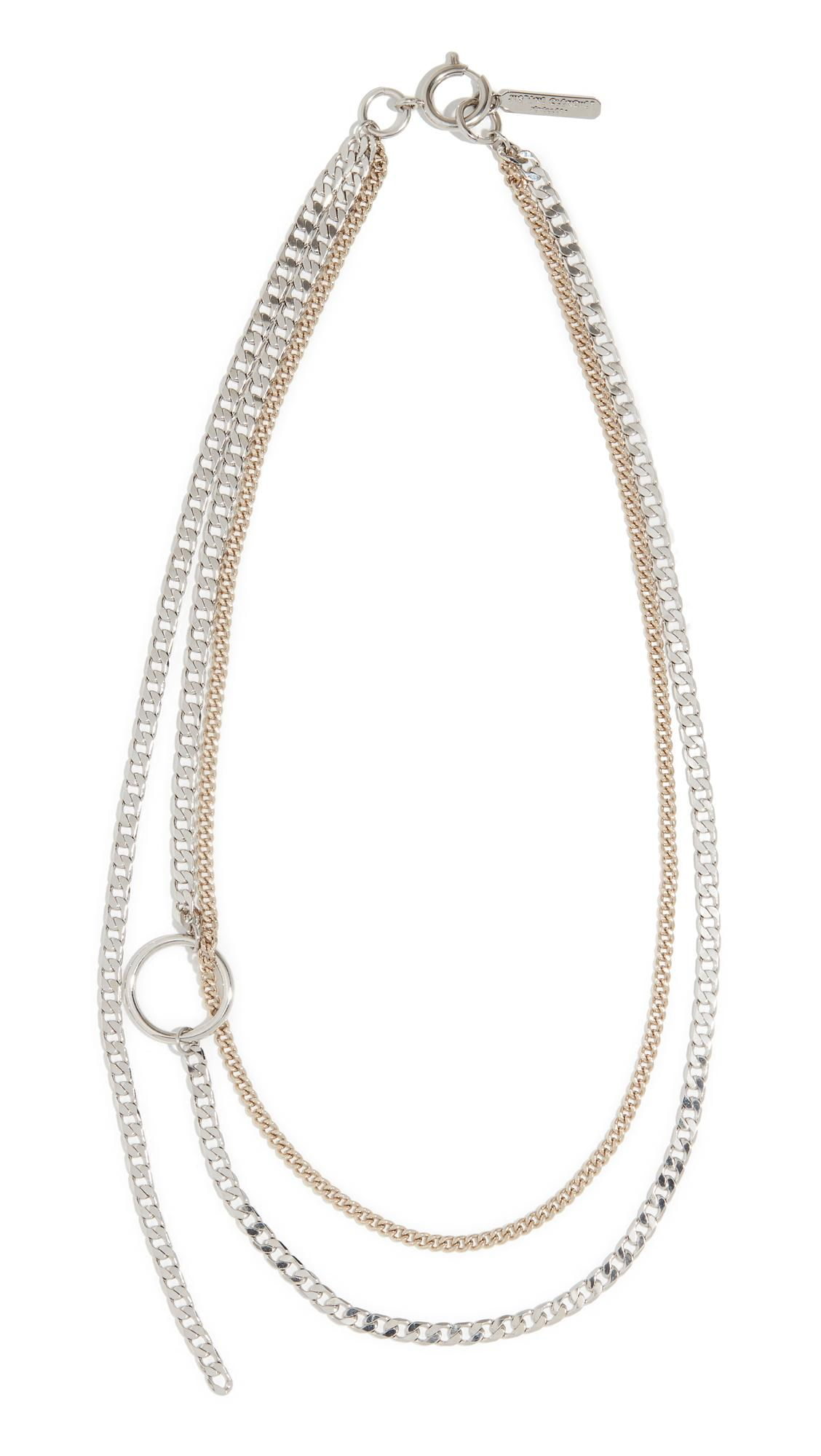 Justine Clenquet Jane Necklace in Gold/Silver (Metallic)