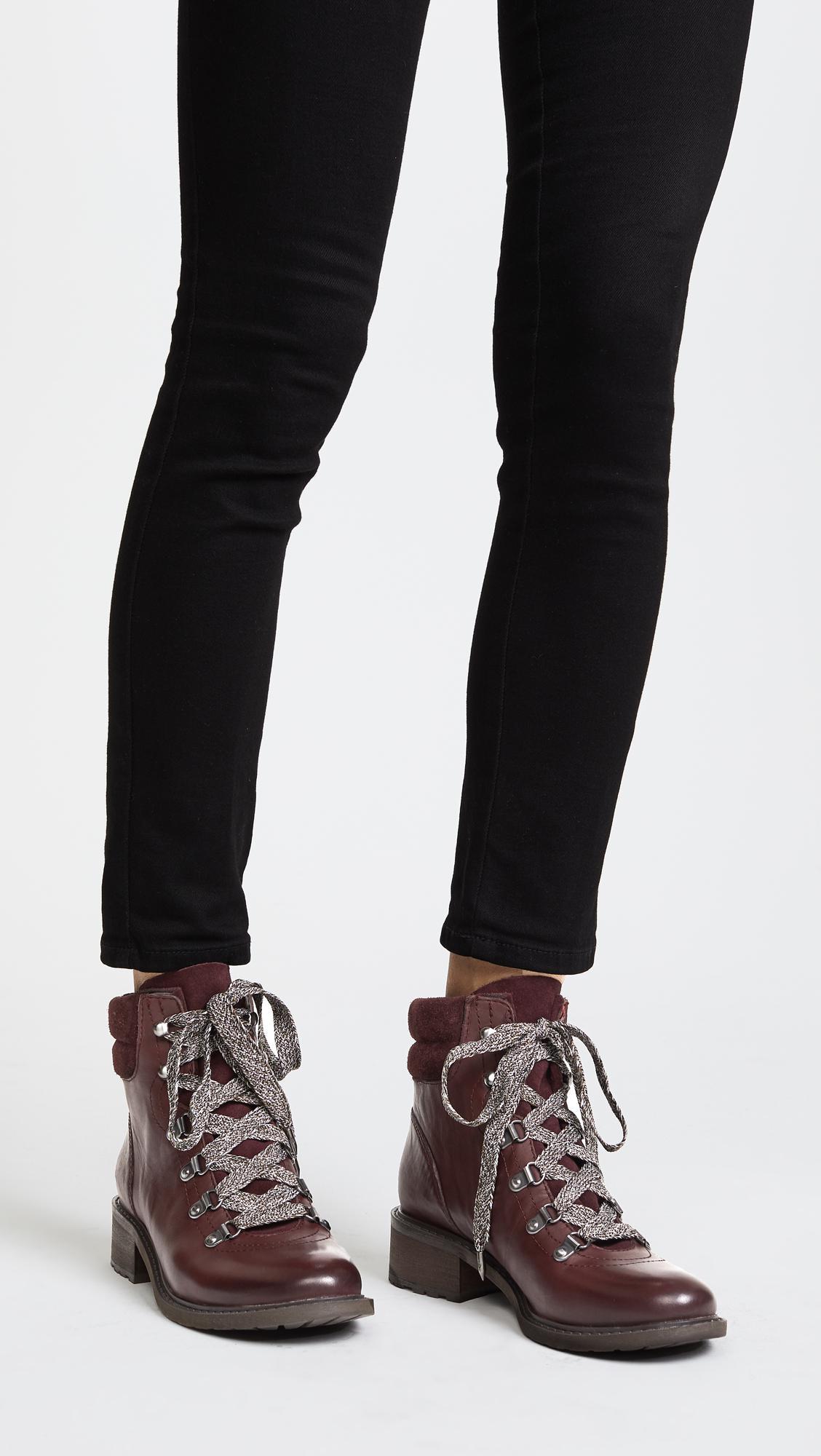 dc47675b7ae Sam Edelman Multicolor Darrah Hiker Boots