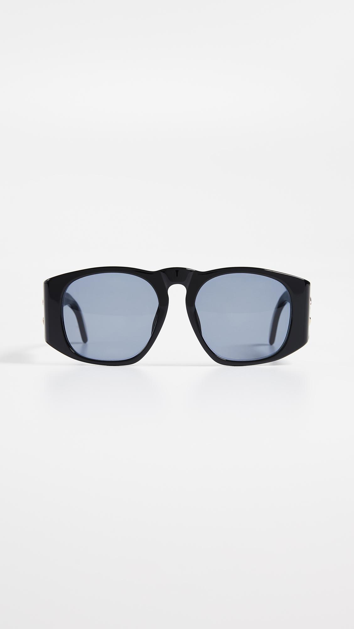 Lyst - What Goes Around Comes Around Chanel Solid Wide Frame ...