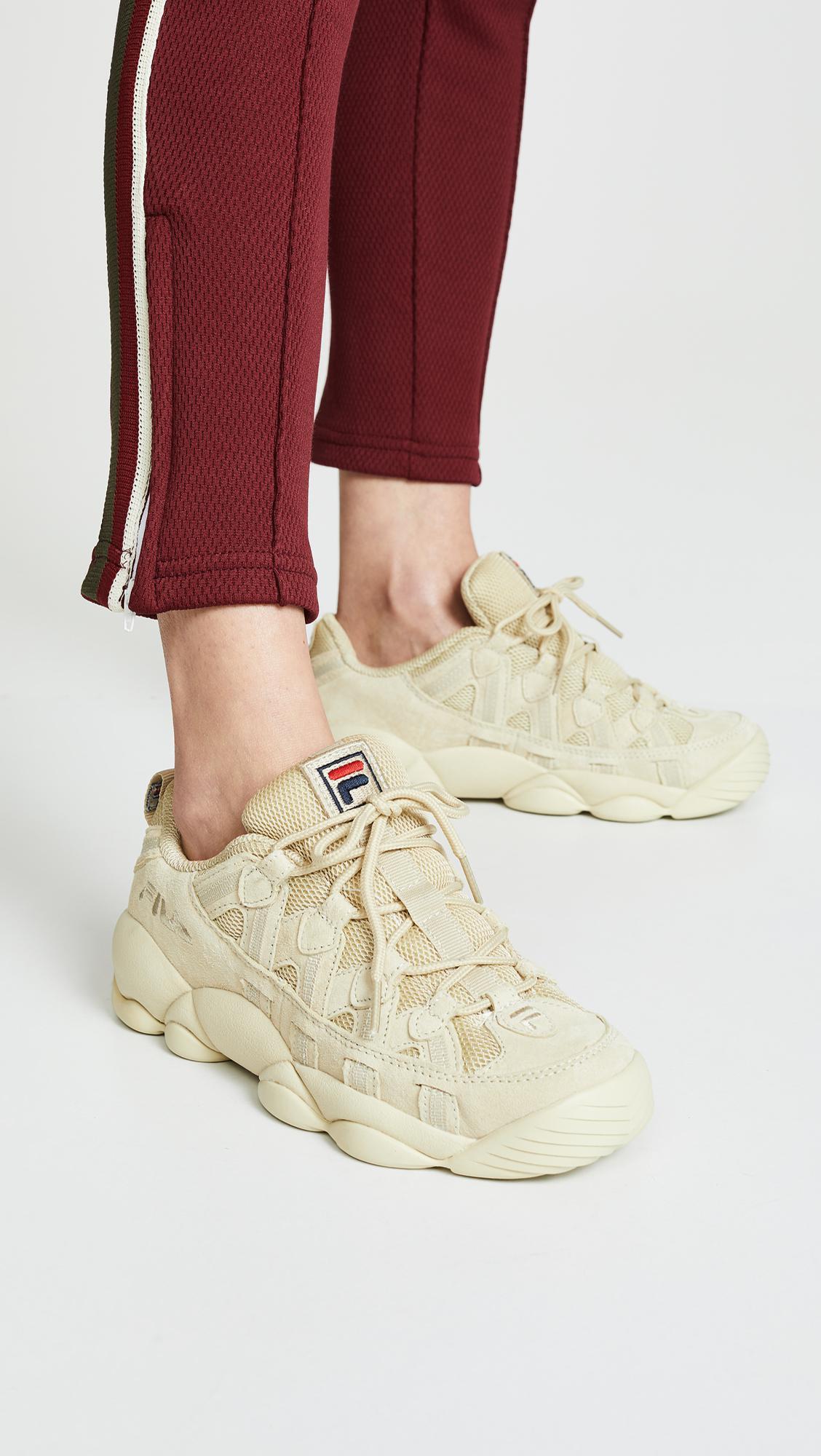 Fila Spaghetti Low Sneakers - Lyst