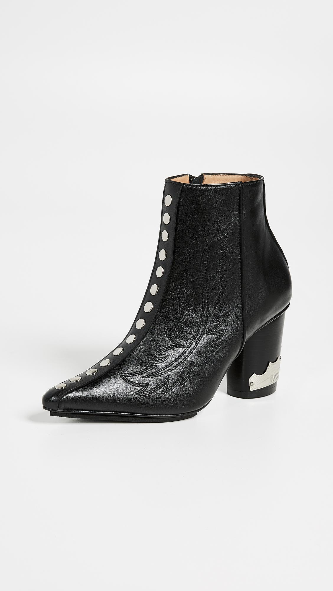 Toga Pulla Studded Booties In Black Lyst